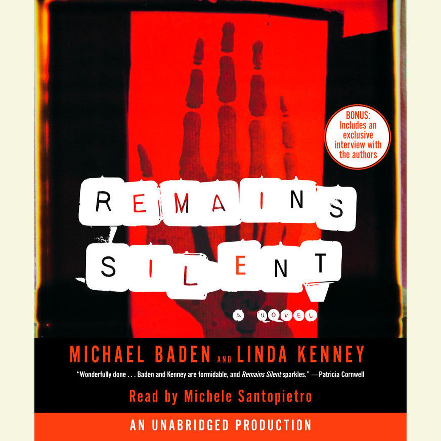 Printable Remains Silent Audiobook Cover Art