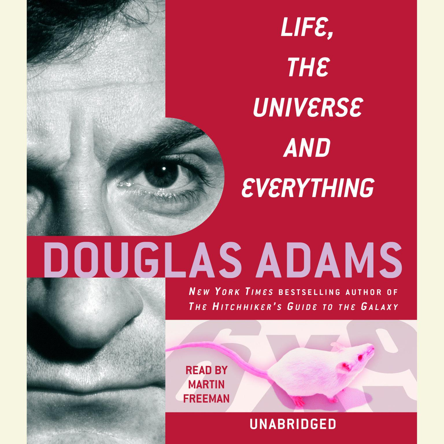 Printable Life, the Universe and Everything Audiobook Cover Art