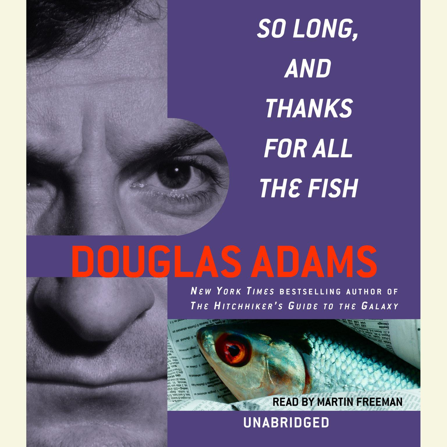 Printable So Long, and Thanks for All the Fish Audiobook Cover Art