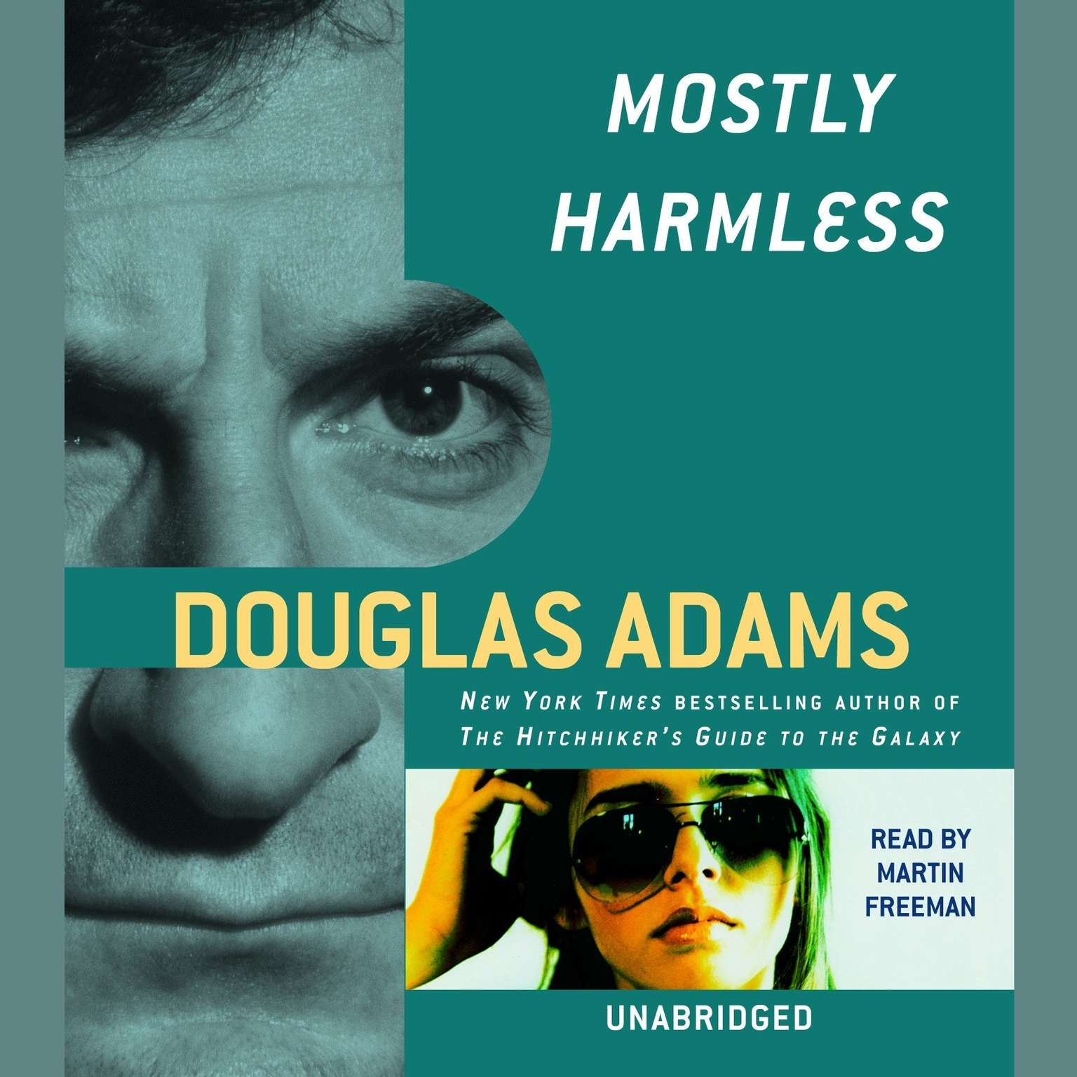 Printable Mostly Harmless Audiobook Cover Art