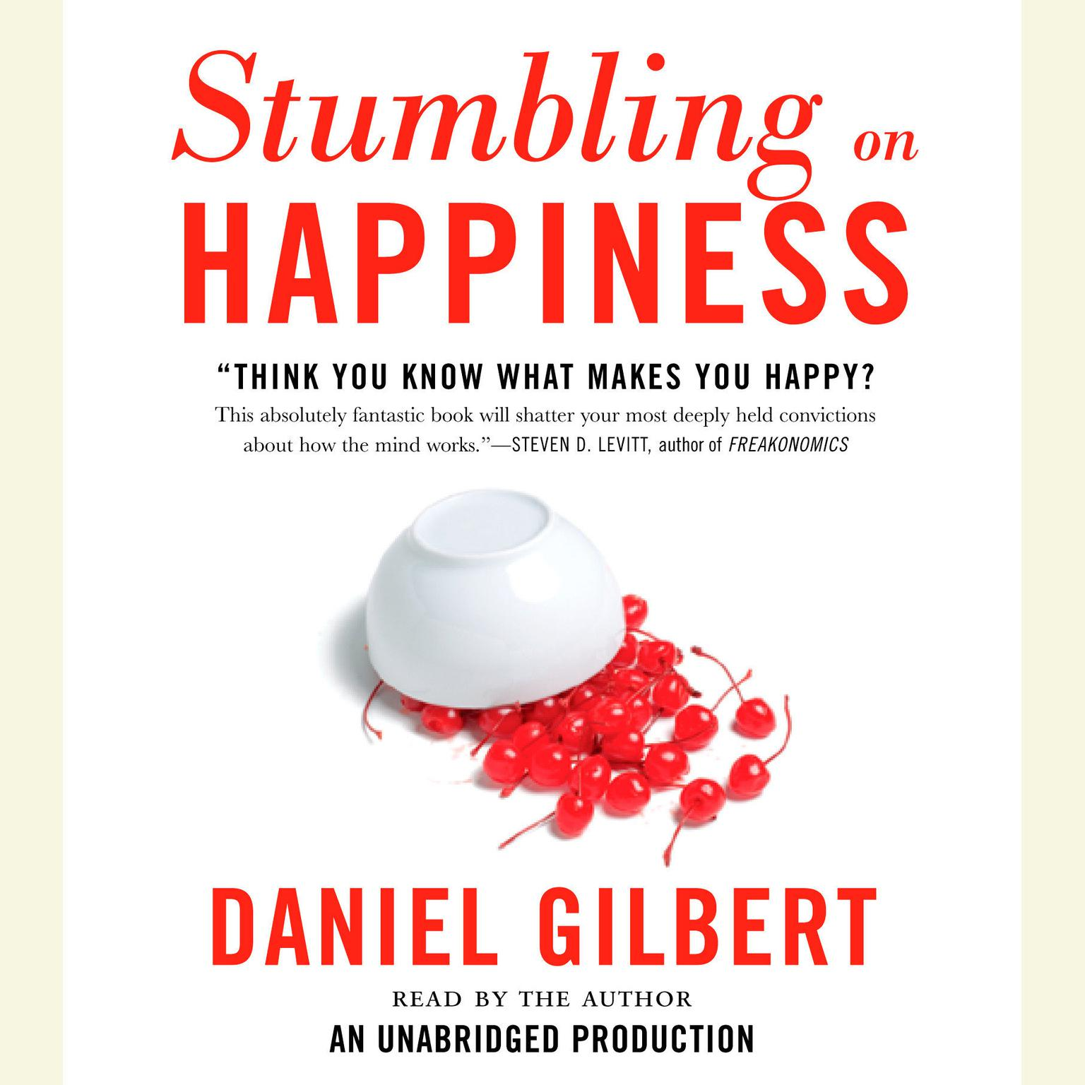 Printable Stumbling on Happiness Audiobook Cover Art