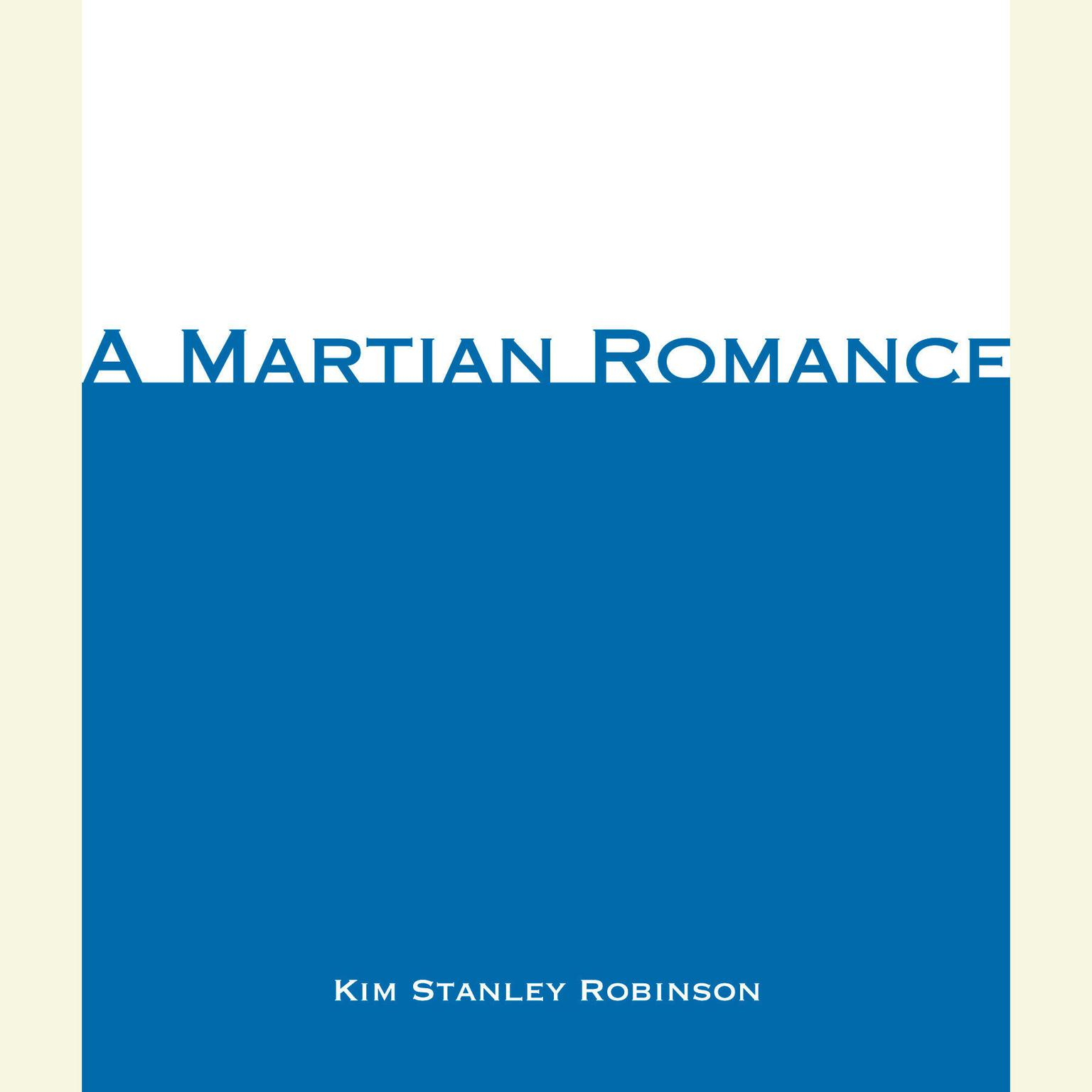 Printable A Martian Romance Audiobook Cover Art