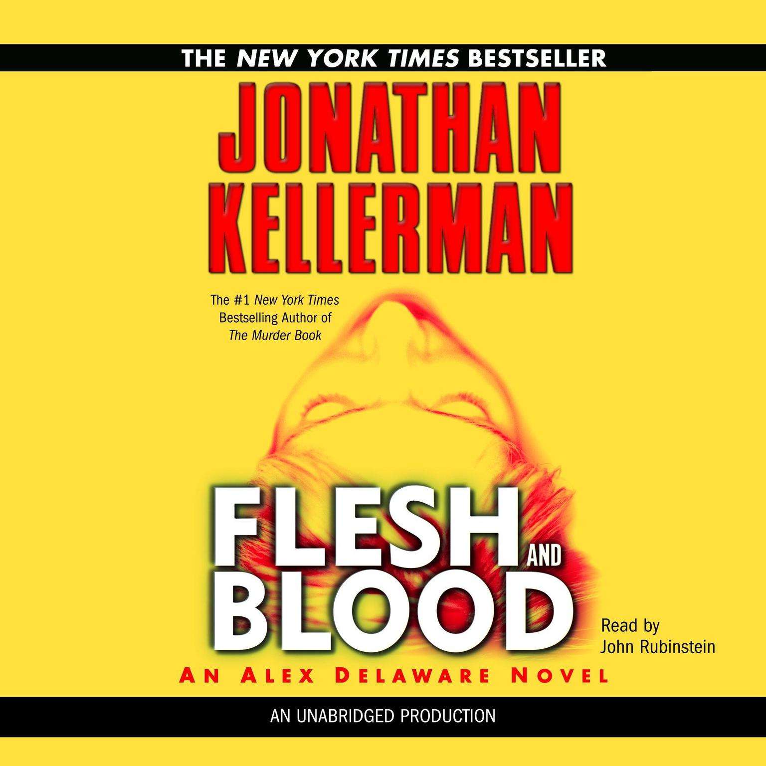 Printable Flesh and Blood: An Alex Delaware Novel Audiobook Cover Art