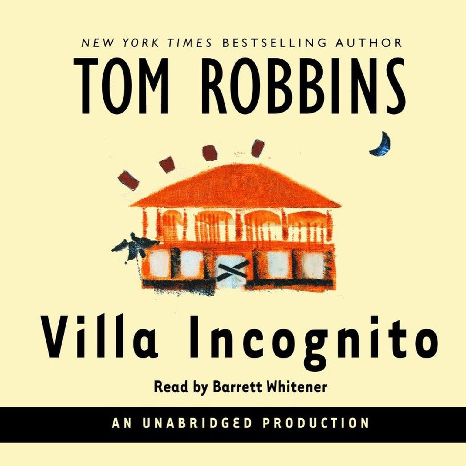 Printable Villa Incognito Audiobook Cover Art