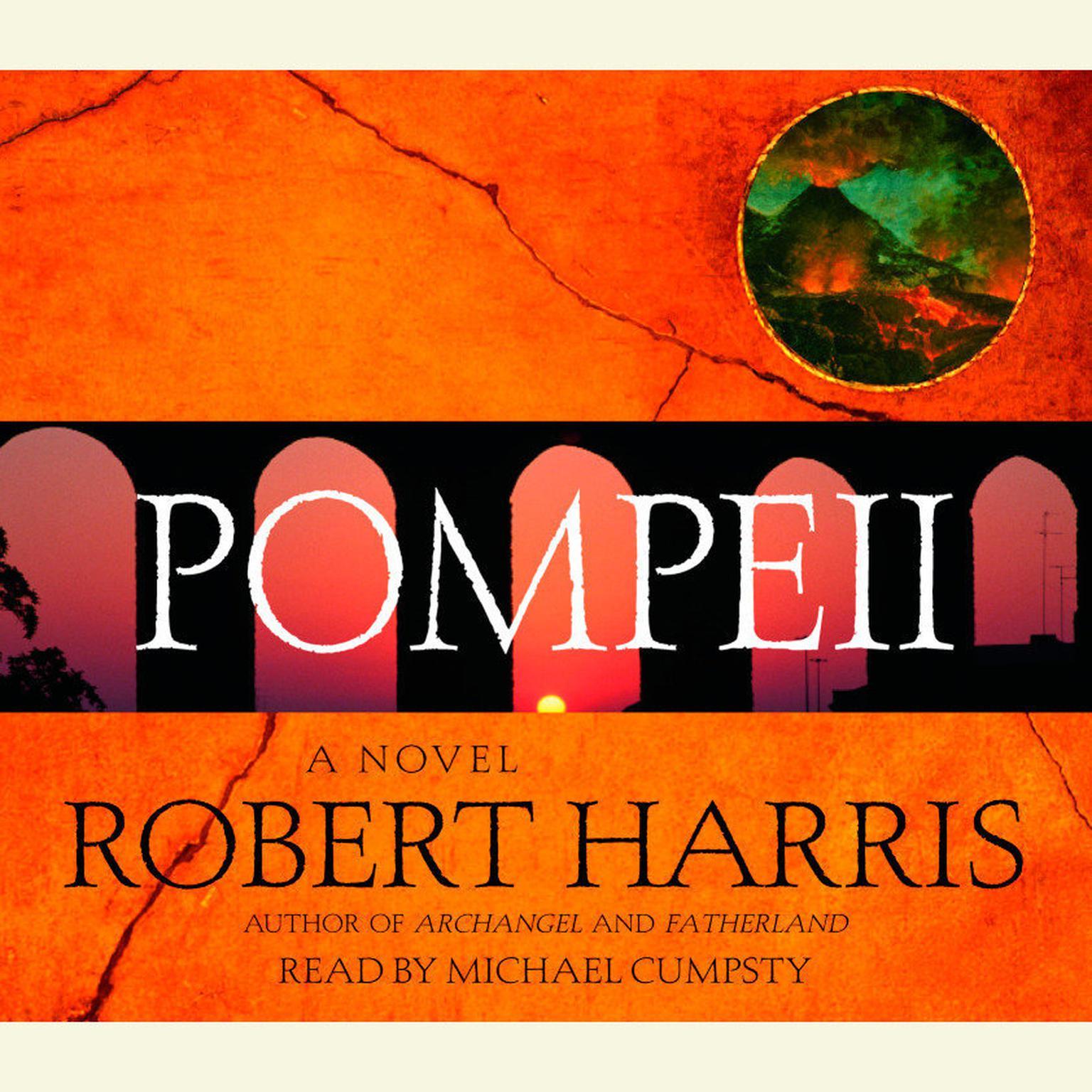 Printable Pompeii: A Novel Audiobook Cover Art