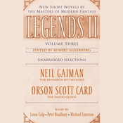 Legends II, Vol. 3: New Short Novels by the Masters of Modern Fantasy Audiobook, by Robert Silverberg