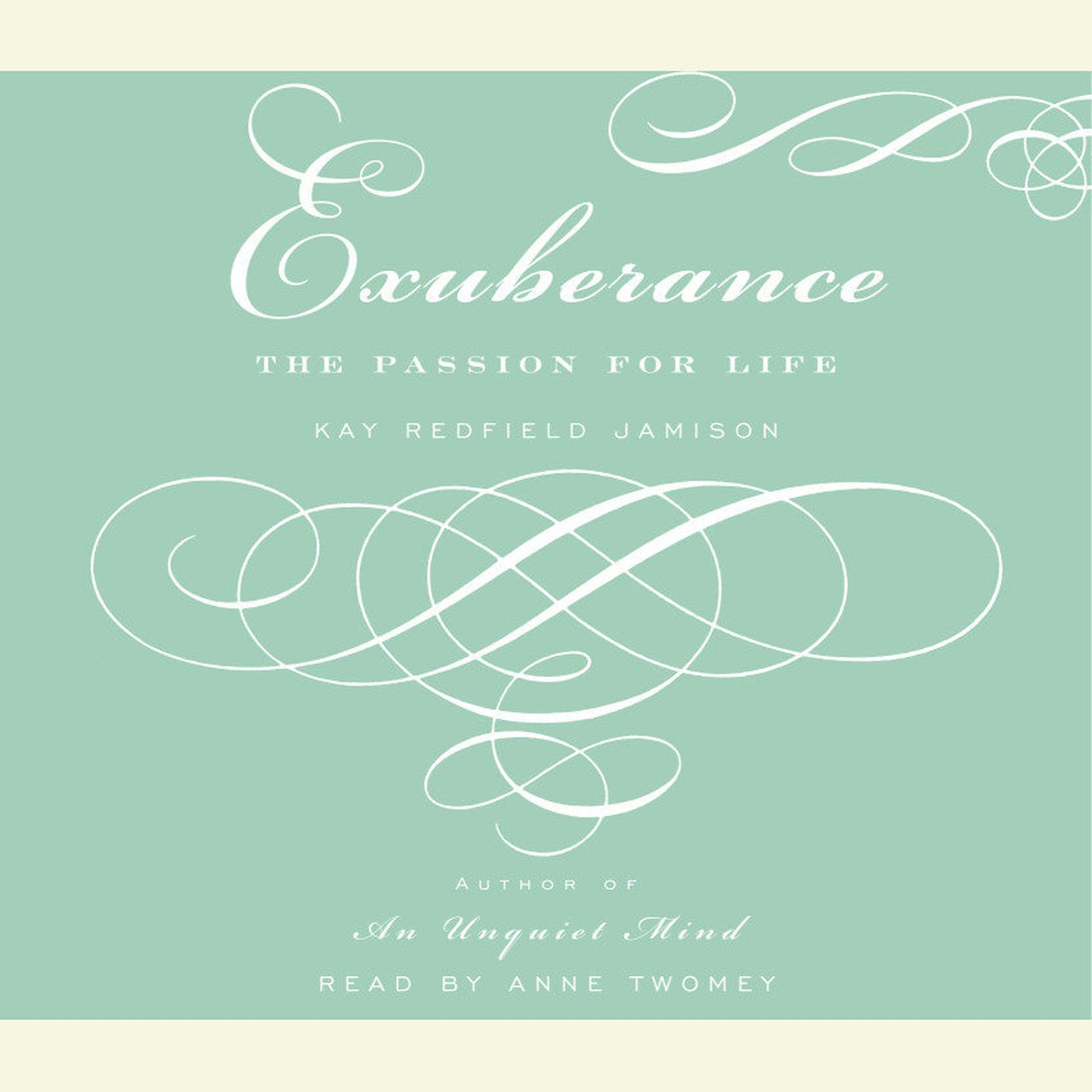 Printable Exuberance: The Passion for Life Audiobook Cover Art