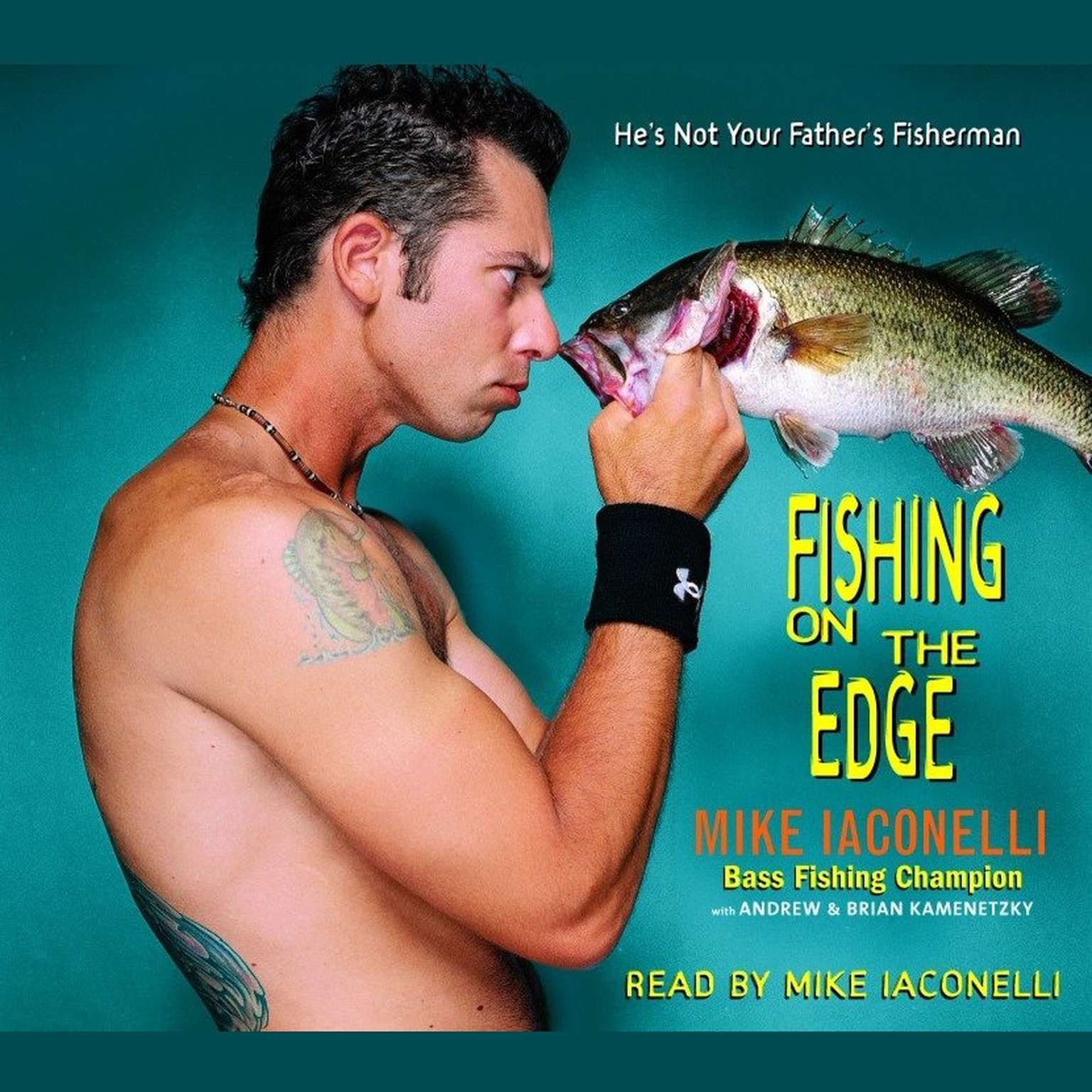 Printable Fishing on the Edge: The Mike Iaconelli Story Audiobook Cover Art