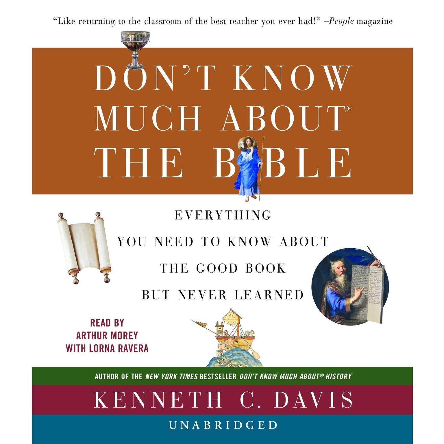 Printable Don't Know Much about the Bible: Everything You Need to Know About the Good Book but Never Learned Audiobook Cover Art