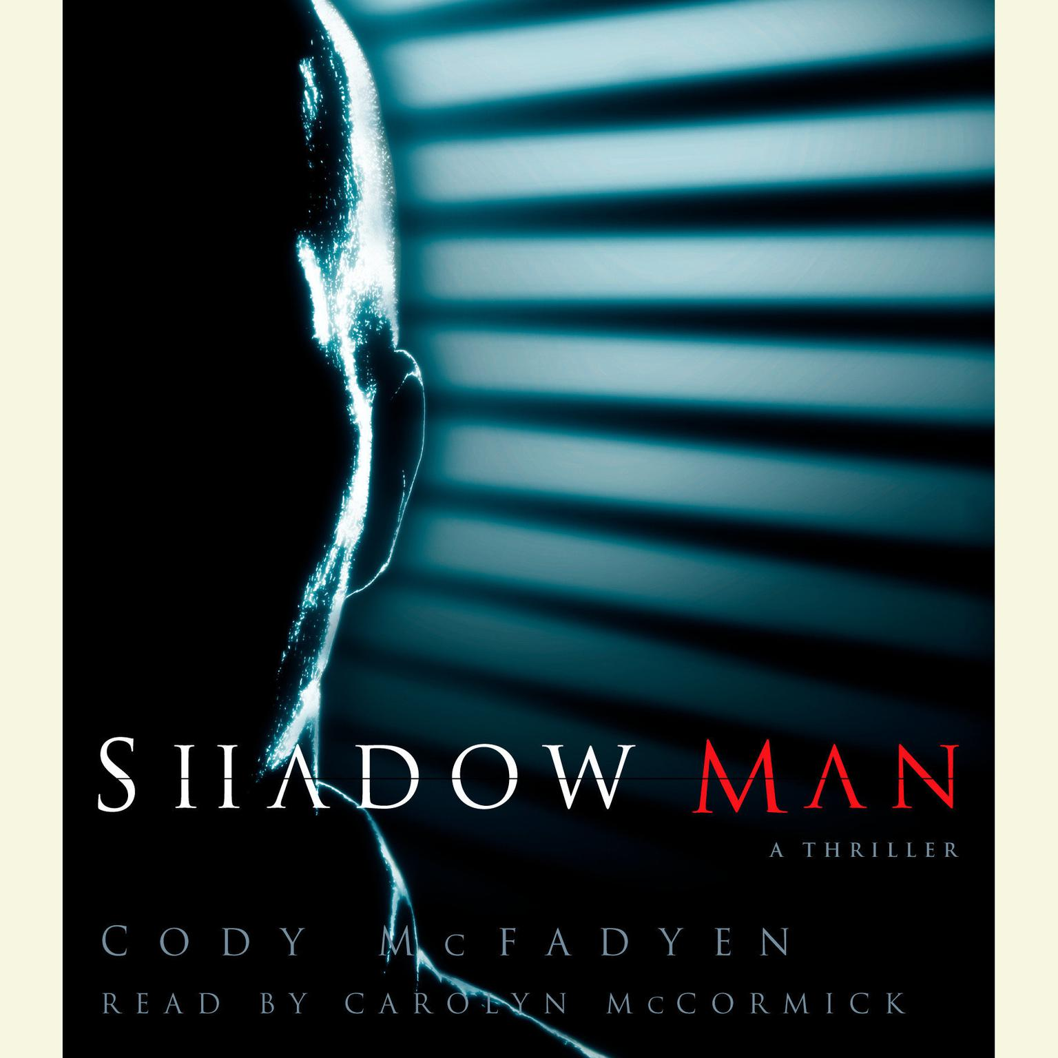 Printable Shadow Man Audiobook Cover Art