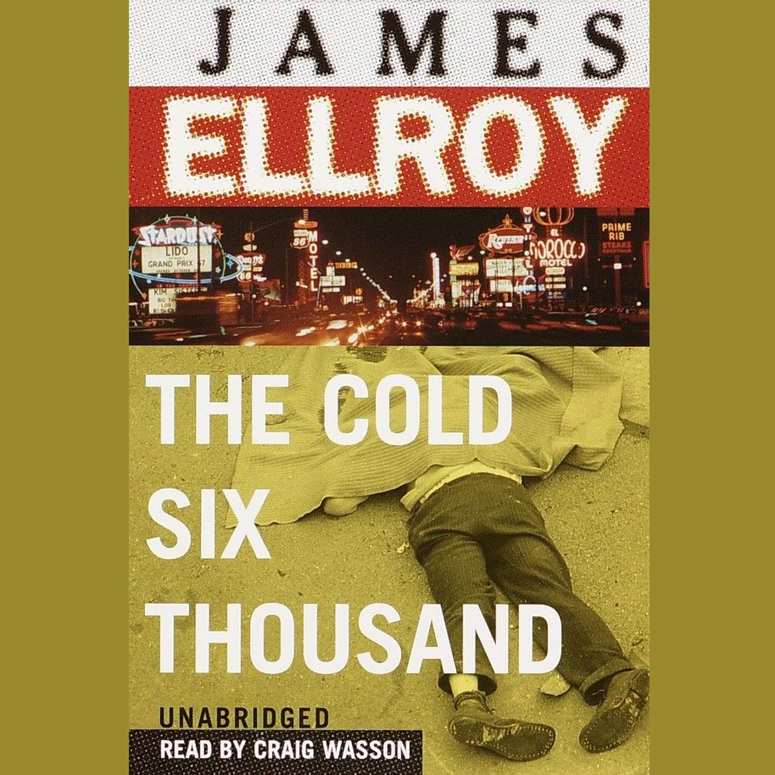 Printable The Cold Six Thousand Audiobook Cover Art