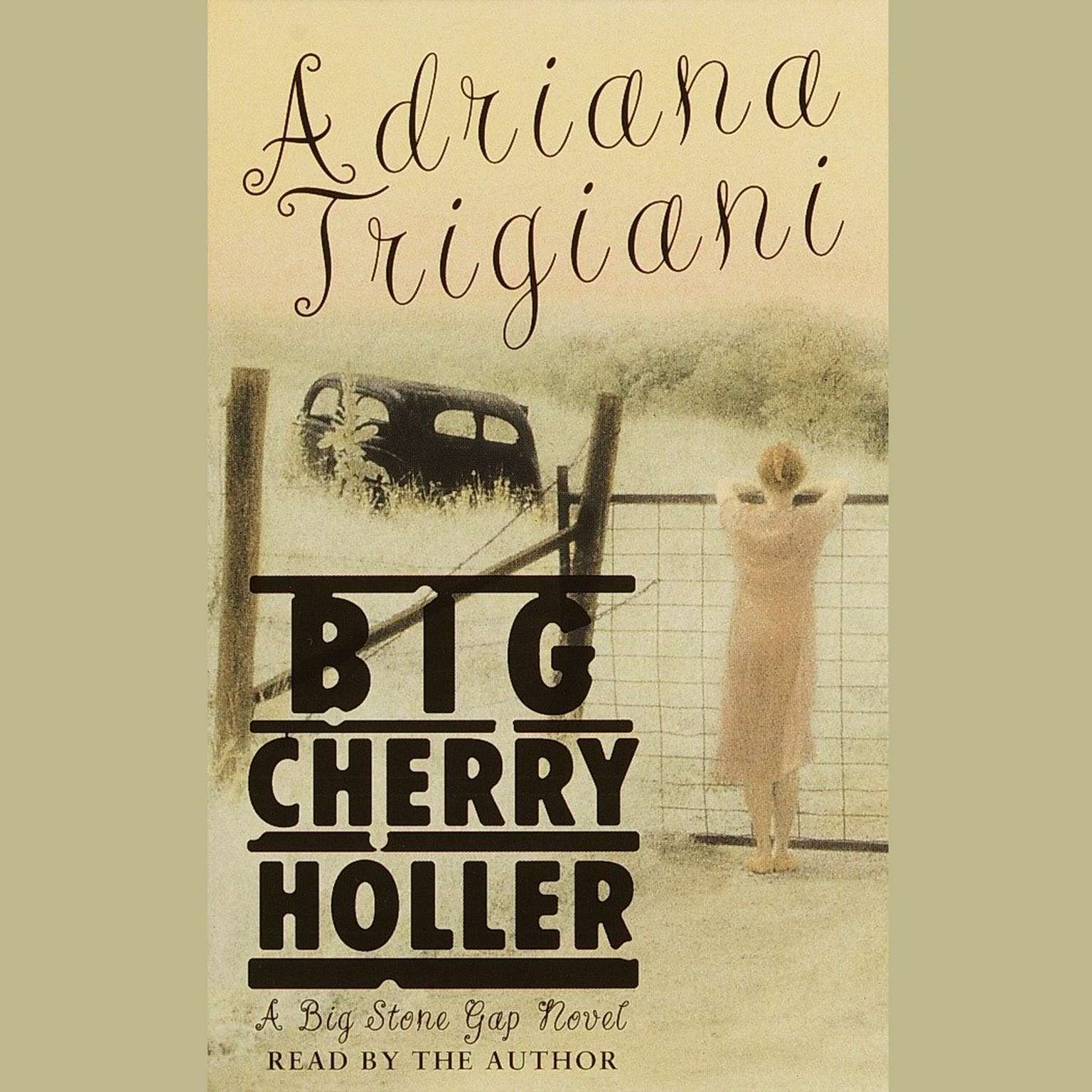 Printable Big Cherry Holler: A Novel Audiobook Cover Art