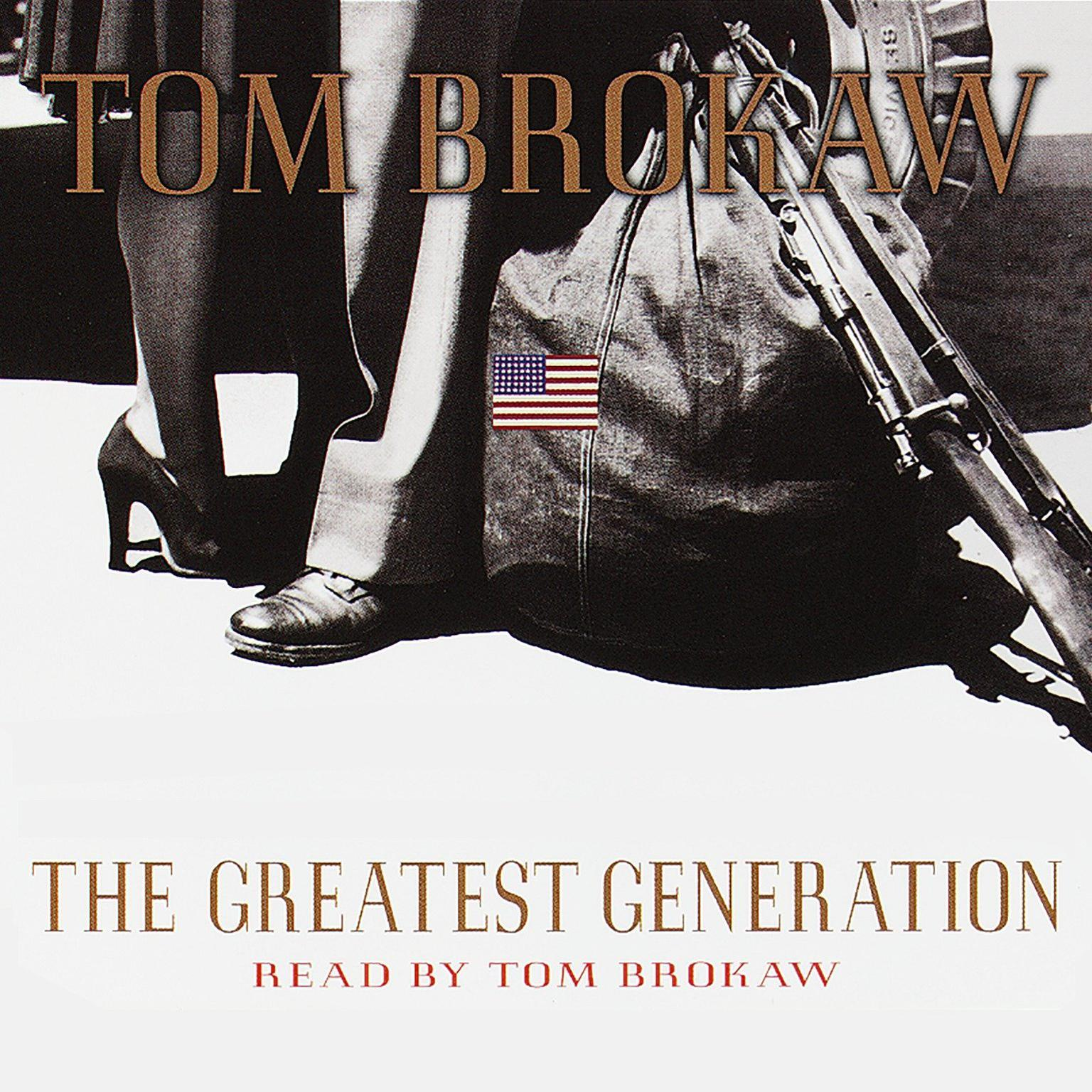 Printable The Greatest Generation Audiobook Cover Art