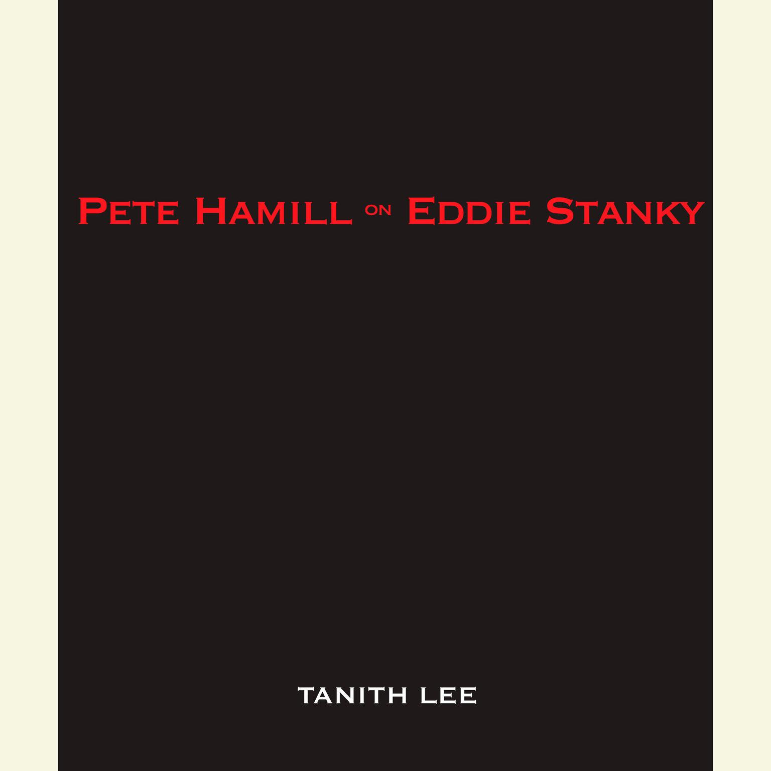 Printable Pete Hamill on Eddie Stanky Audiobook Cover Art