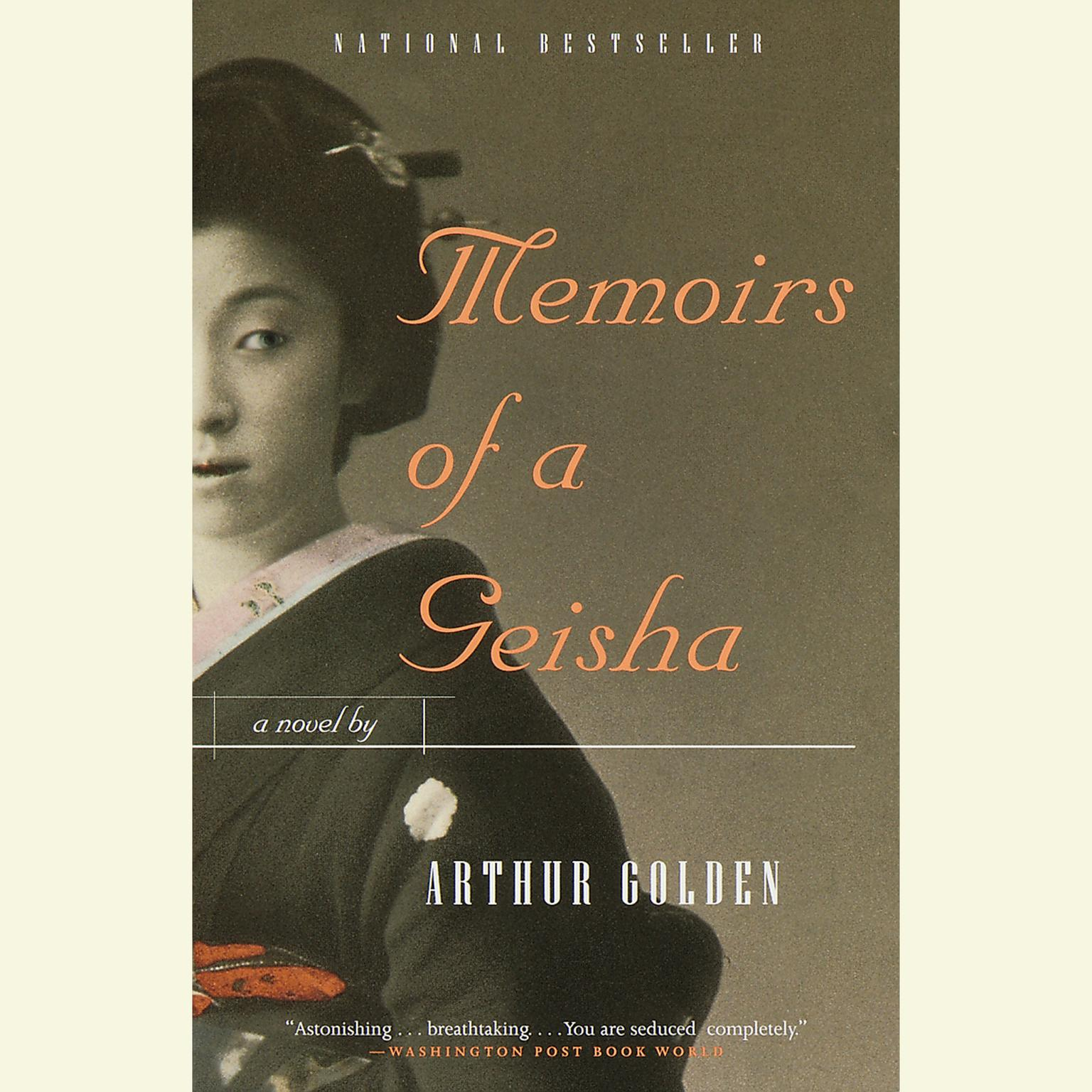 Printable Memoirs of A Geisha Audiobook Cover Art