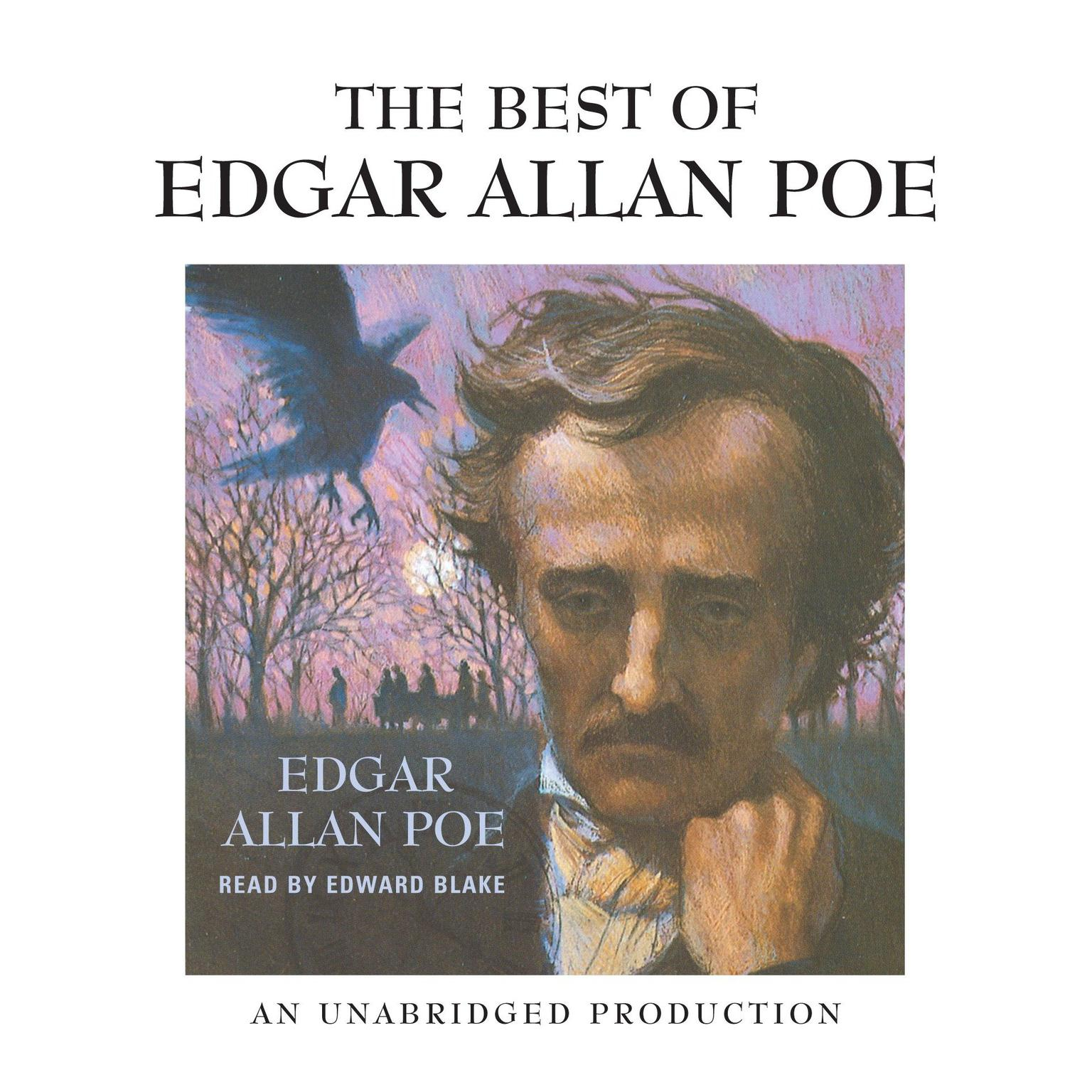 Printable The Best of Edgar Allan Poe Audiobook Cover Art