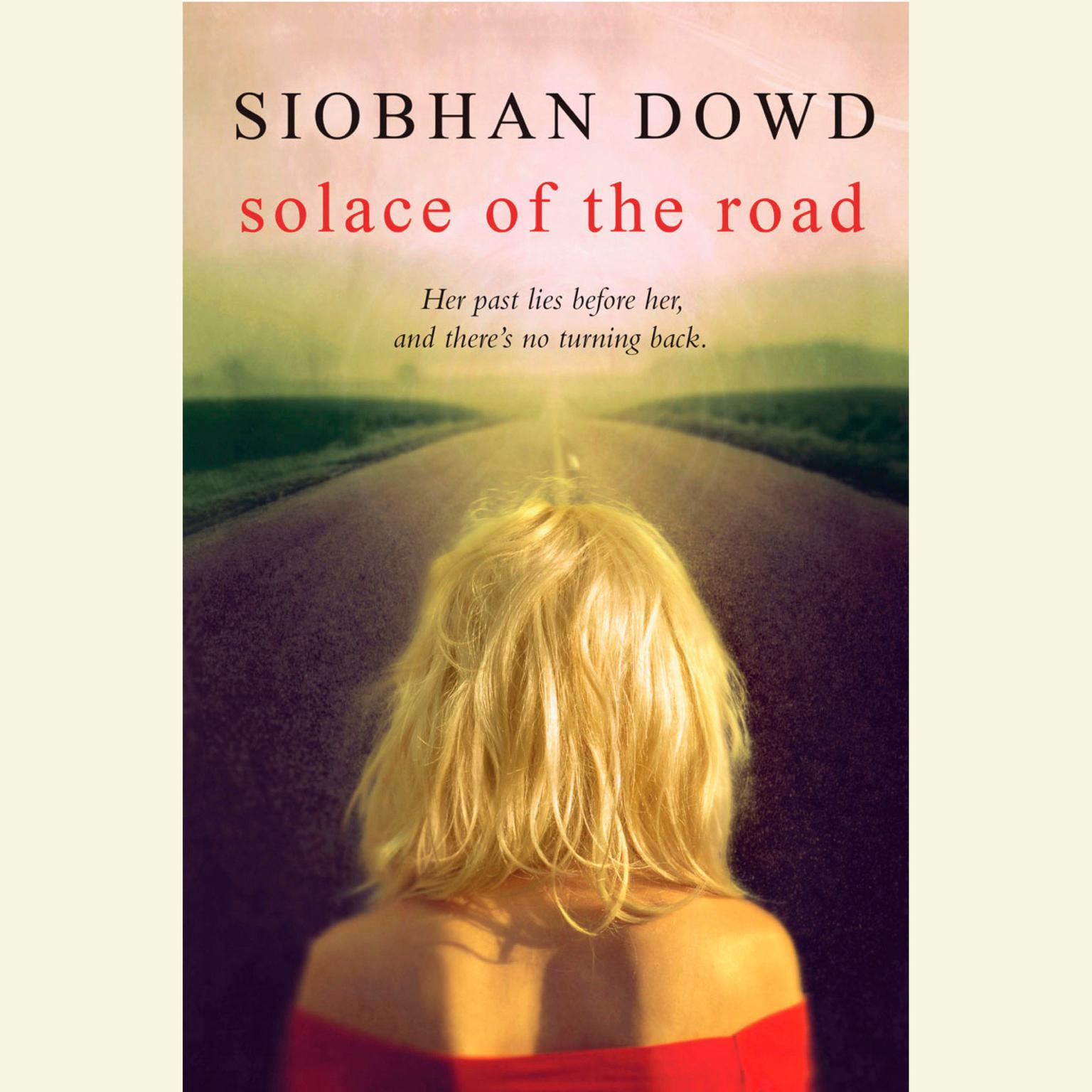 Printable Solace of the Road Audiobook Cover Art