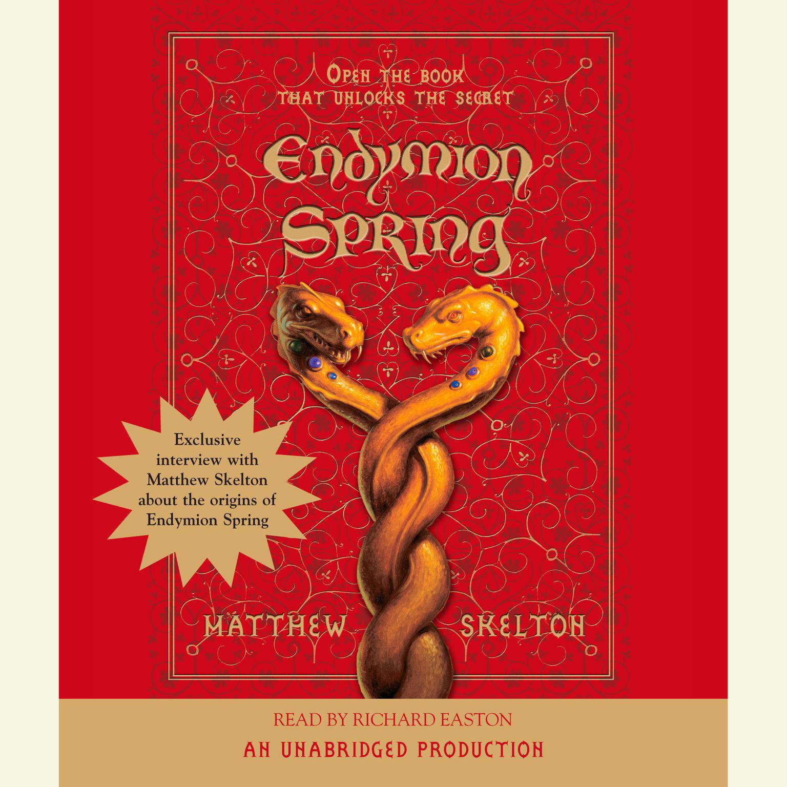 Printable Endymion Spring Audiobook Cover Art