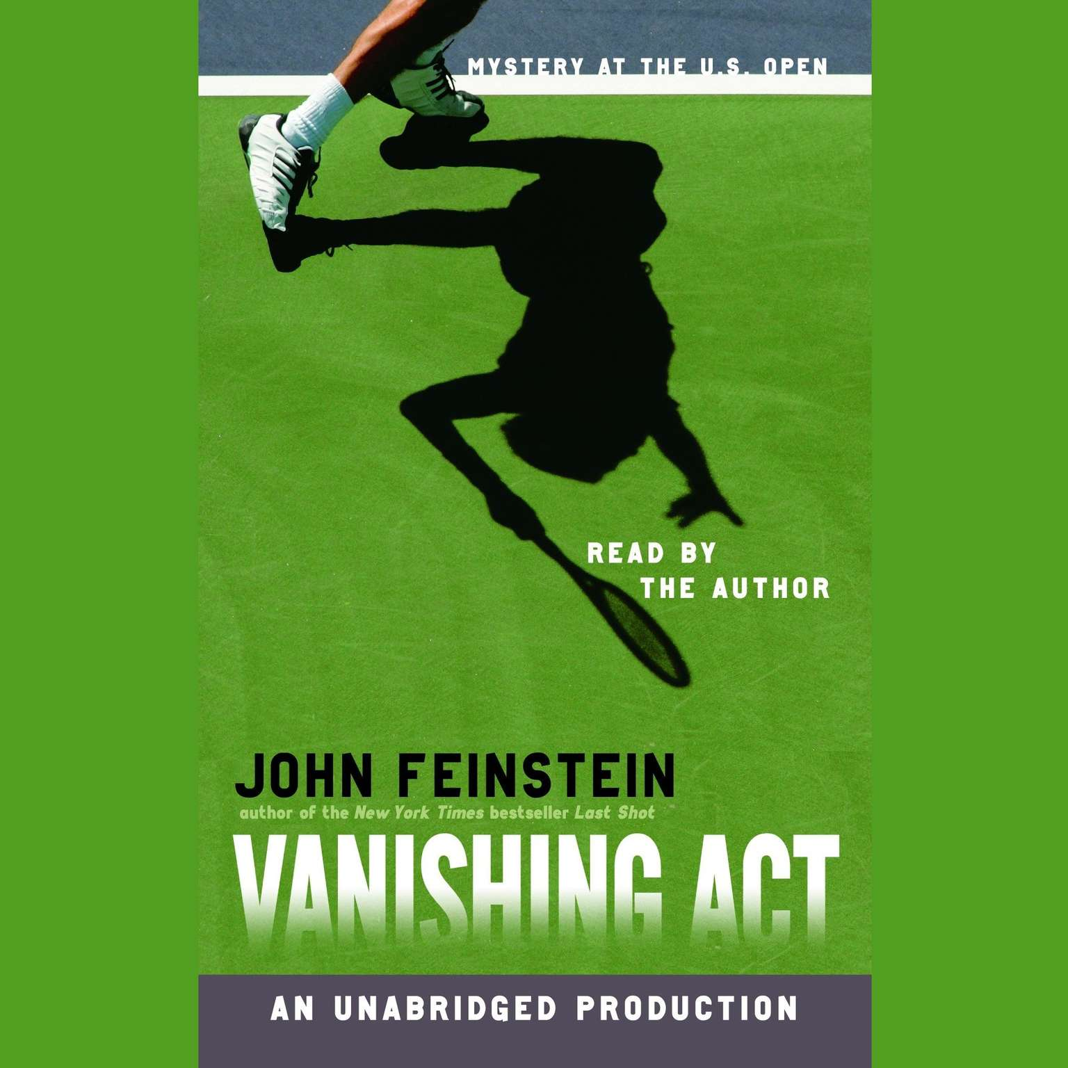 Printable Vanishing Act: Mystery at the U.S. Open: Mystery at the U.S. Open Audiobook Cover Art