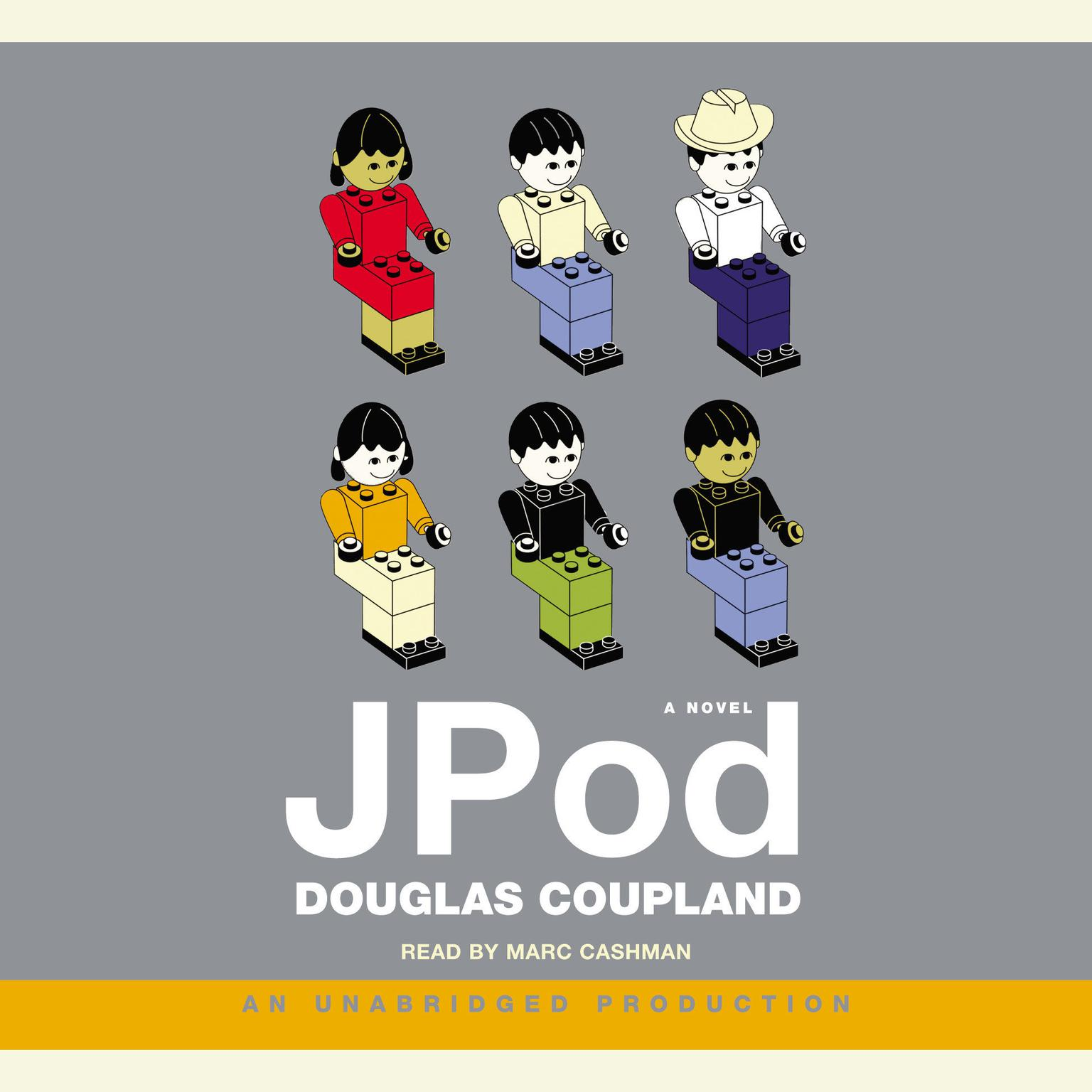 Printable JPod Audiobook Cover Art