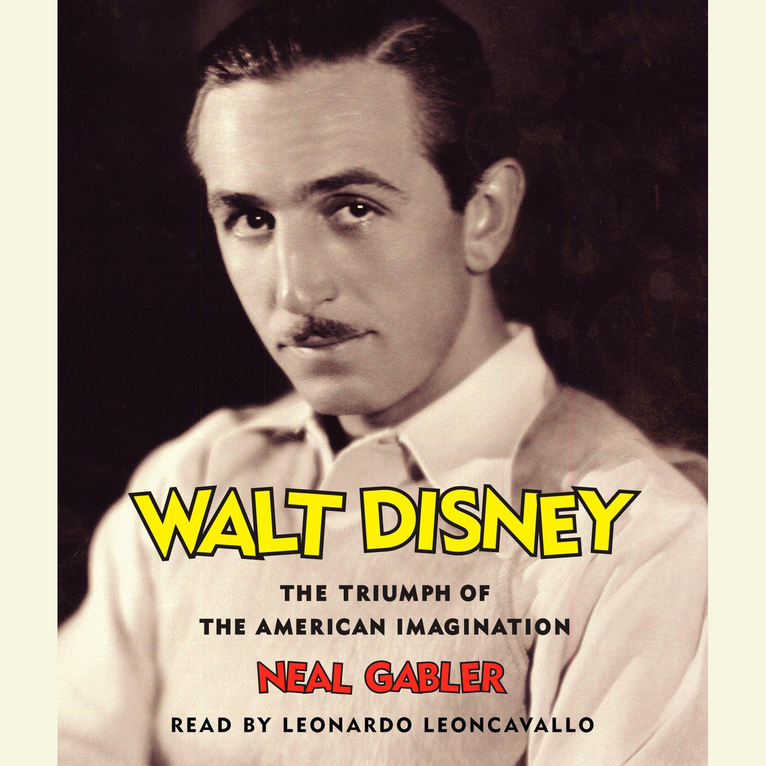 Printable Walt Disney: The Triumph of the American Imagination Audiobook Cover Art