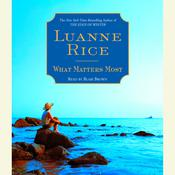 What Matters Most, by Luanne Rice