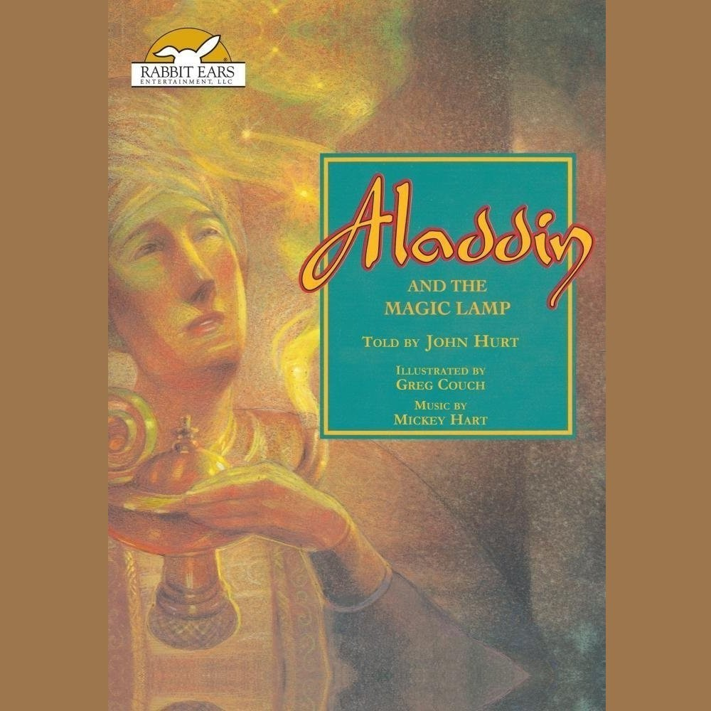 Printable Aladdin and the Magic Lamp Audiobook Cover Art