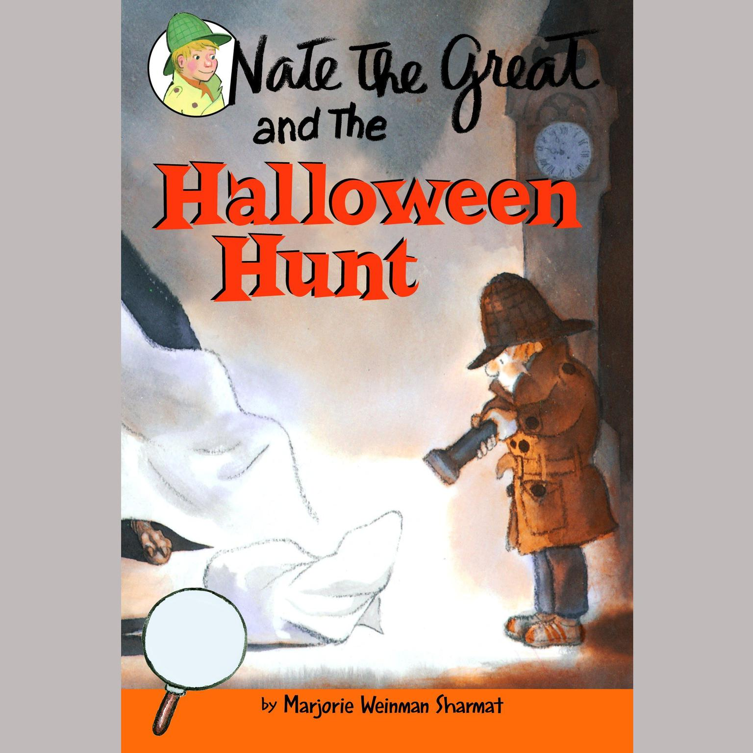 Printable Nate the Great and the Halloween Hunt: Nate the Great: Favorites Audiobook Cover Art