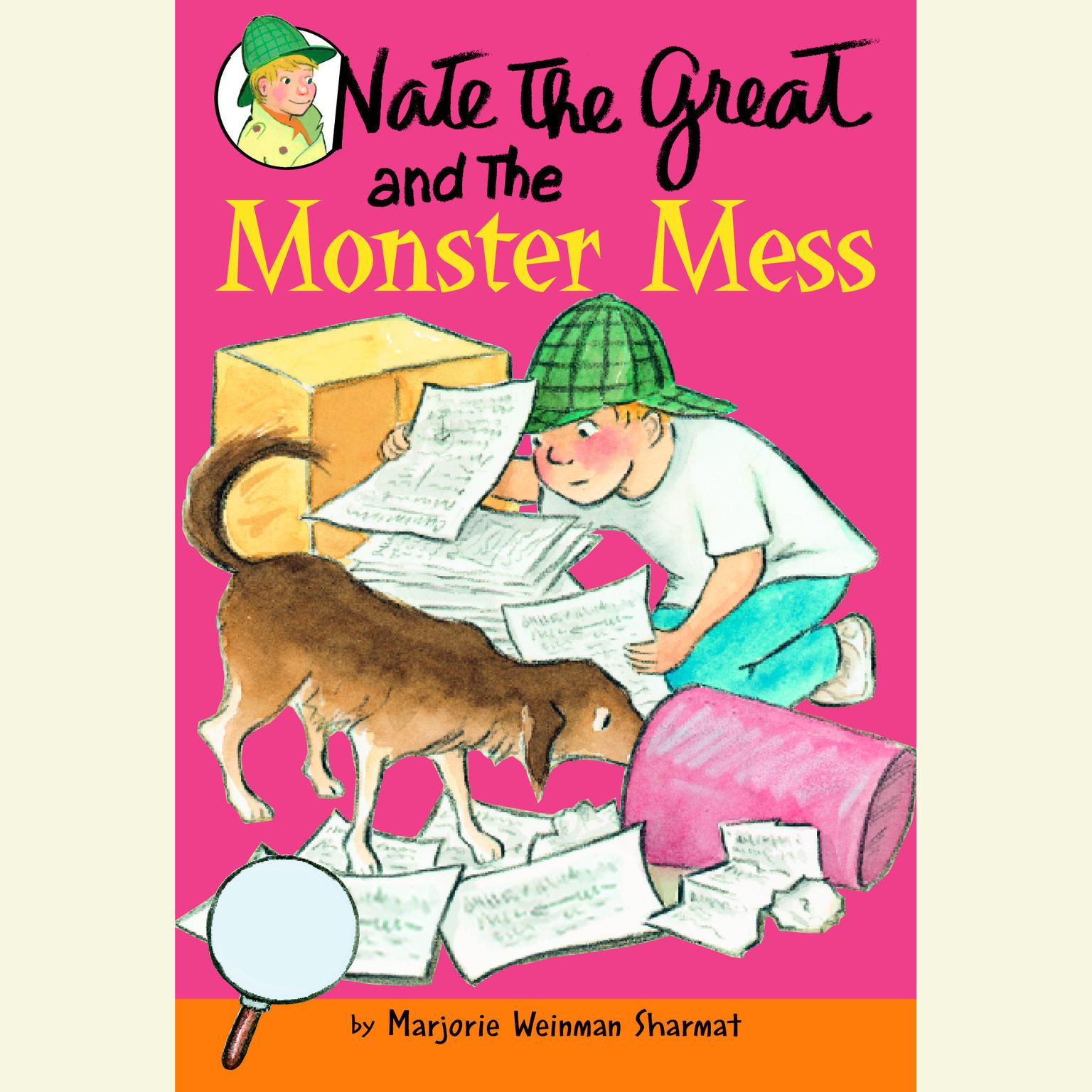 Printable Nate the Great and the Monster Mess: Nate the Great: Favorites Audiobook Cover Art