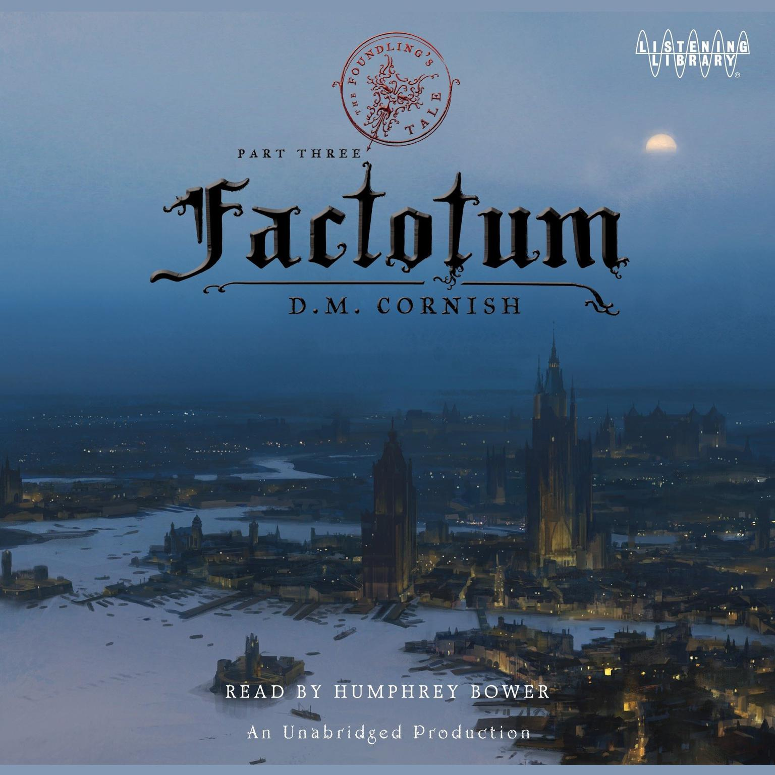 Printable Factotum: The Foundling's Tale, Part Three Audiobook Cover Art