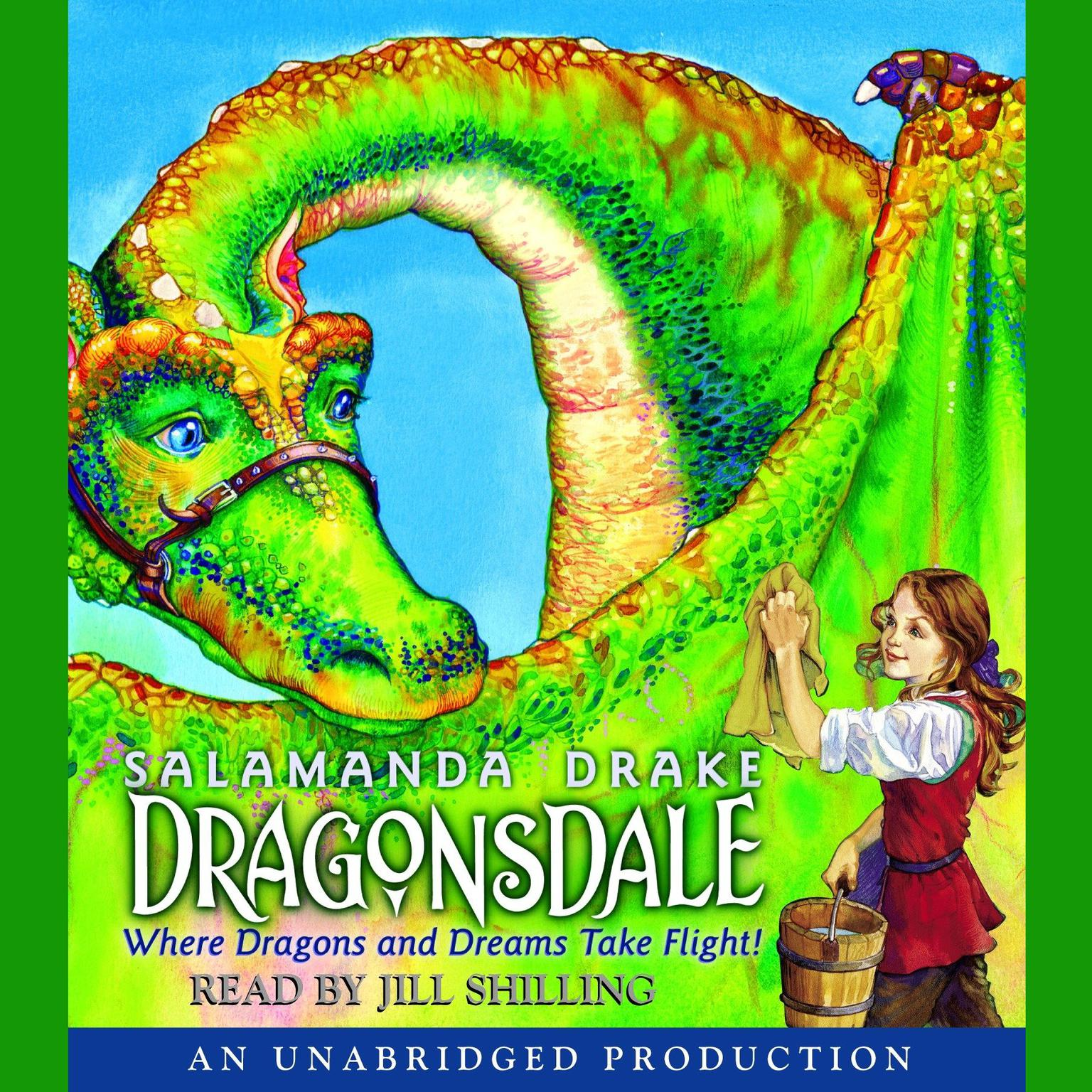 Printable Dragonsdale Audiobook Cover Art