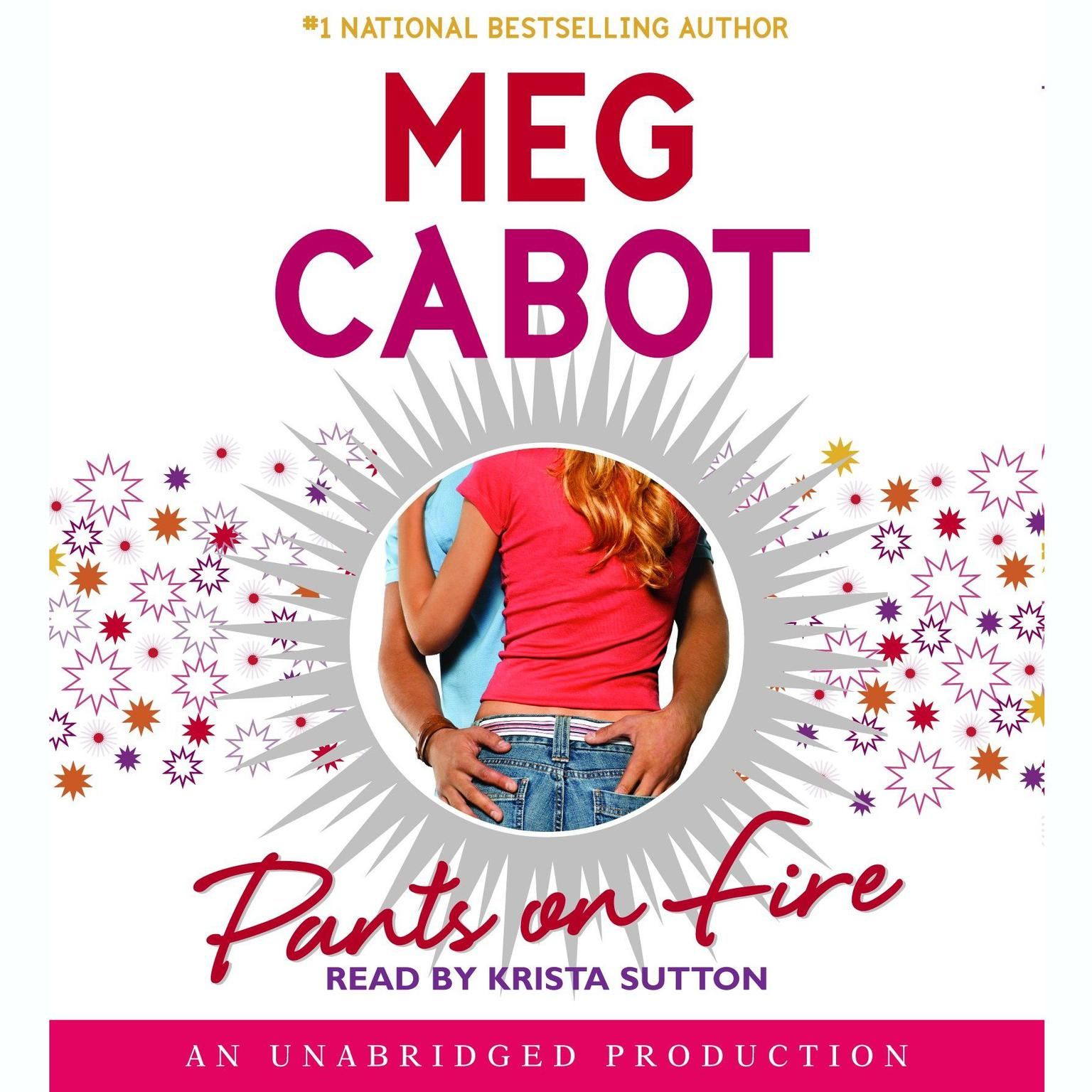 Printable Pants on Fire Audiobook Cover Art