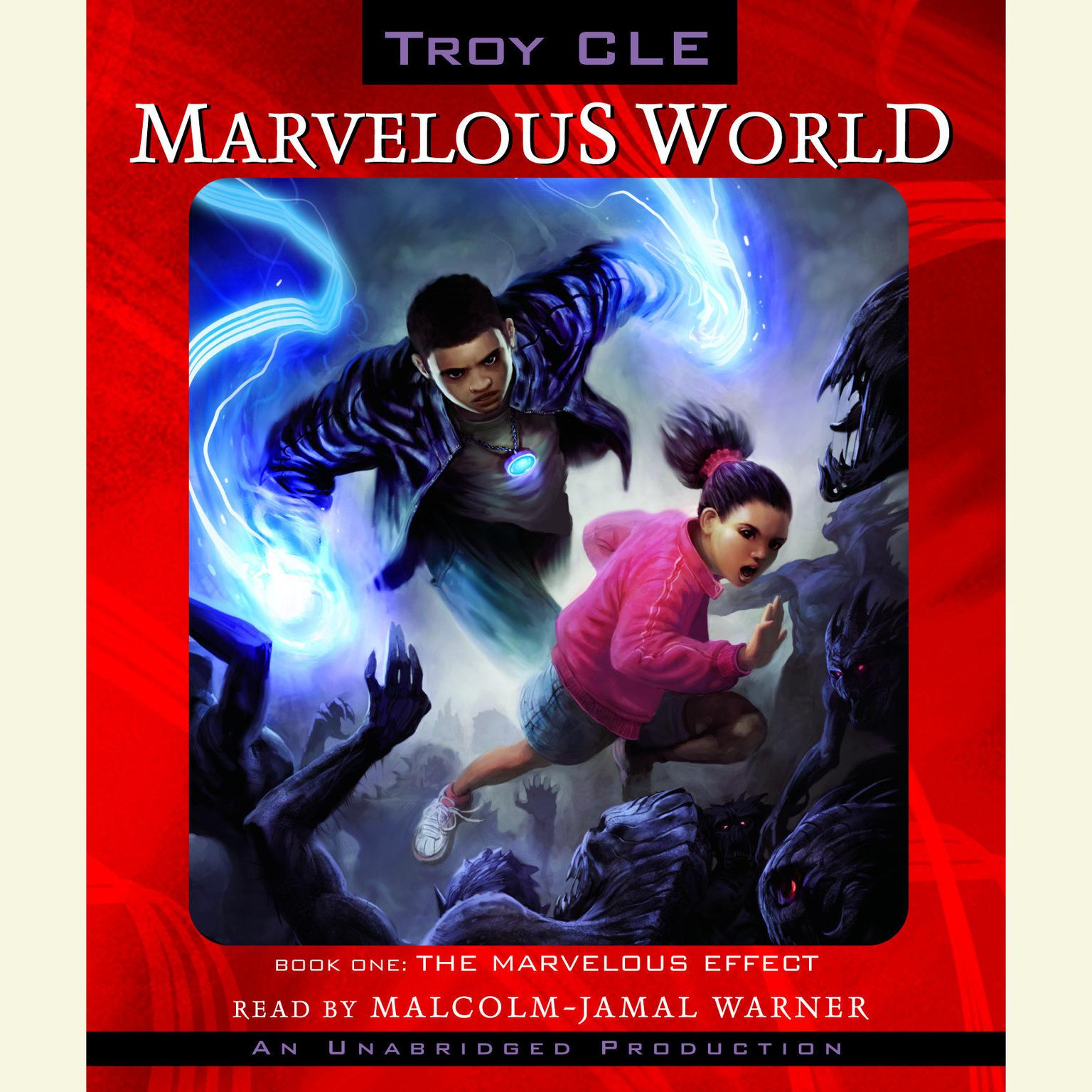 Printable The Marvelous Effect: Marvelous World, Book 1 Audiobook Cover Art