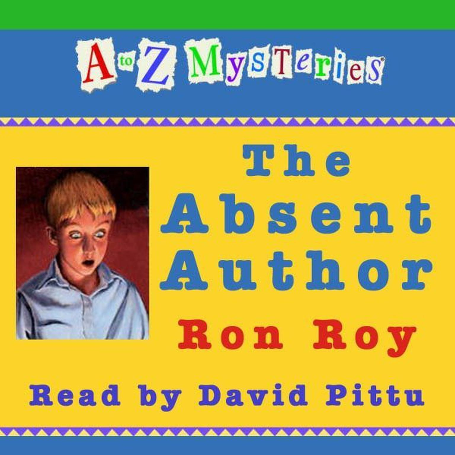 Printable A to Z Mysteries: The Absent Author Audiobook Cover Art