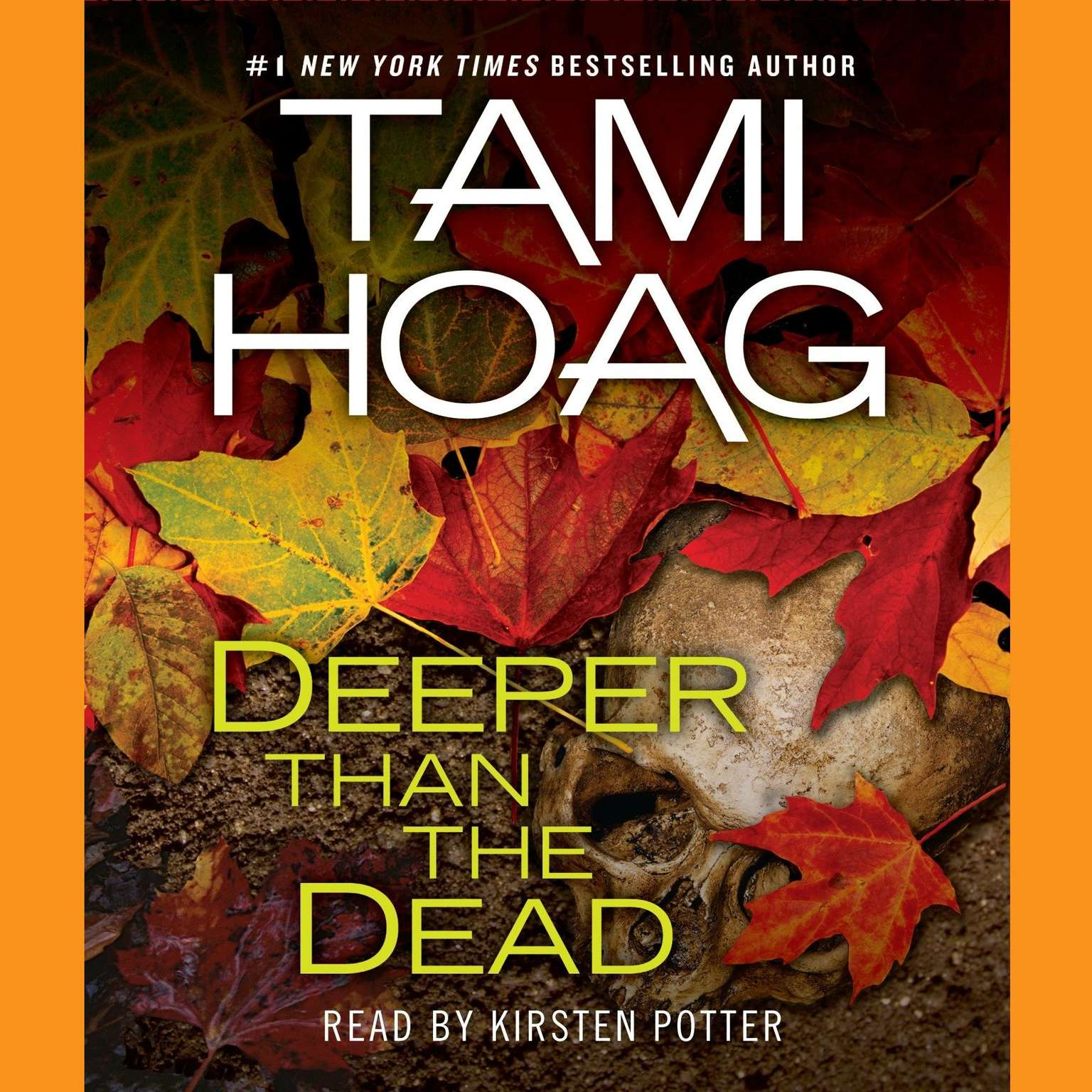 Printable Deeper Than the Dead Audiobook Cover Art