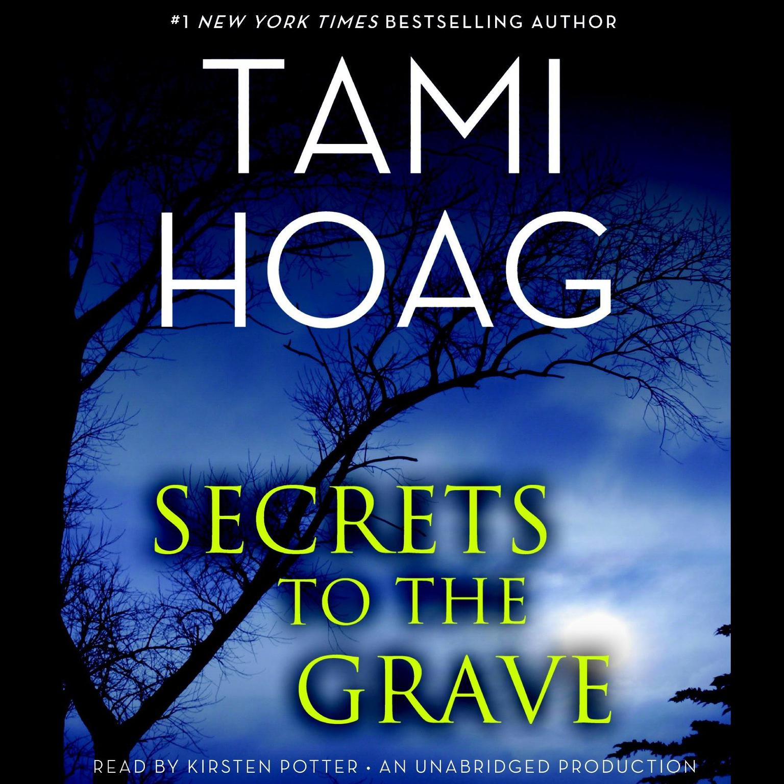 Printable Secrets to the Grave Audiobook Cover Art