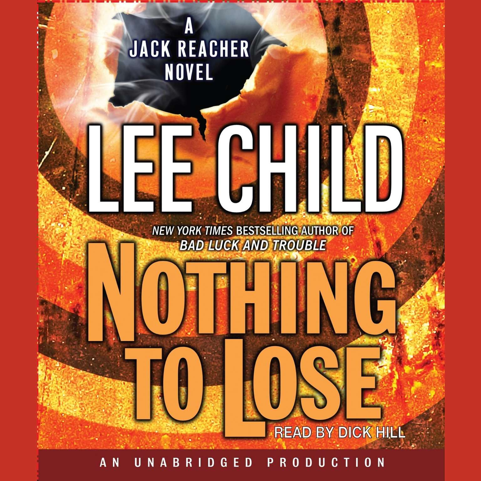 Printable Nothing to Lose: A Jack Reacher Novel Audiobook Cover Art
