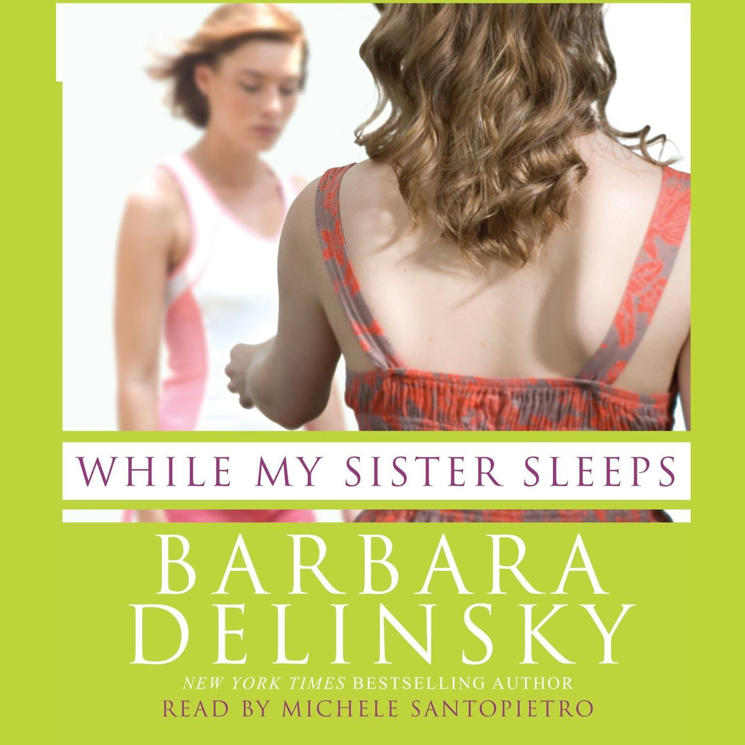 Printable While My Sister Sleeps Audiobook Cover Art