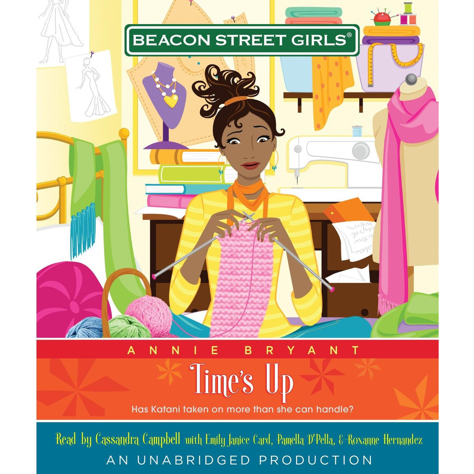 Printable Beacon Street Girls #12: Time's Up Audiobook Cover Art