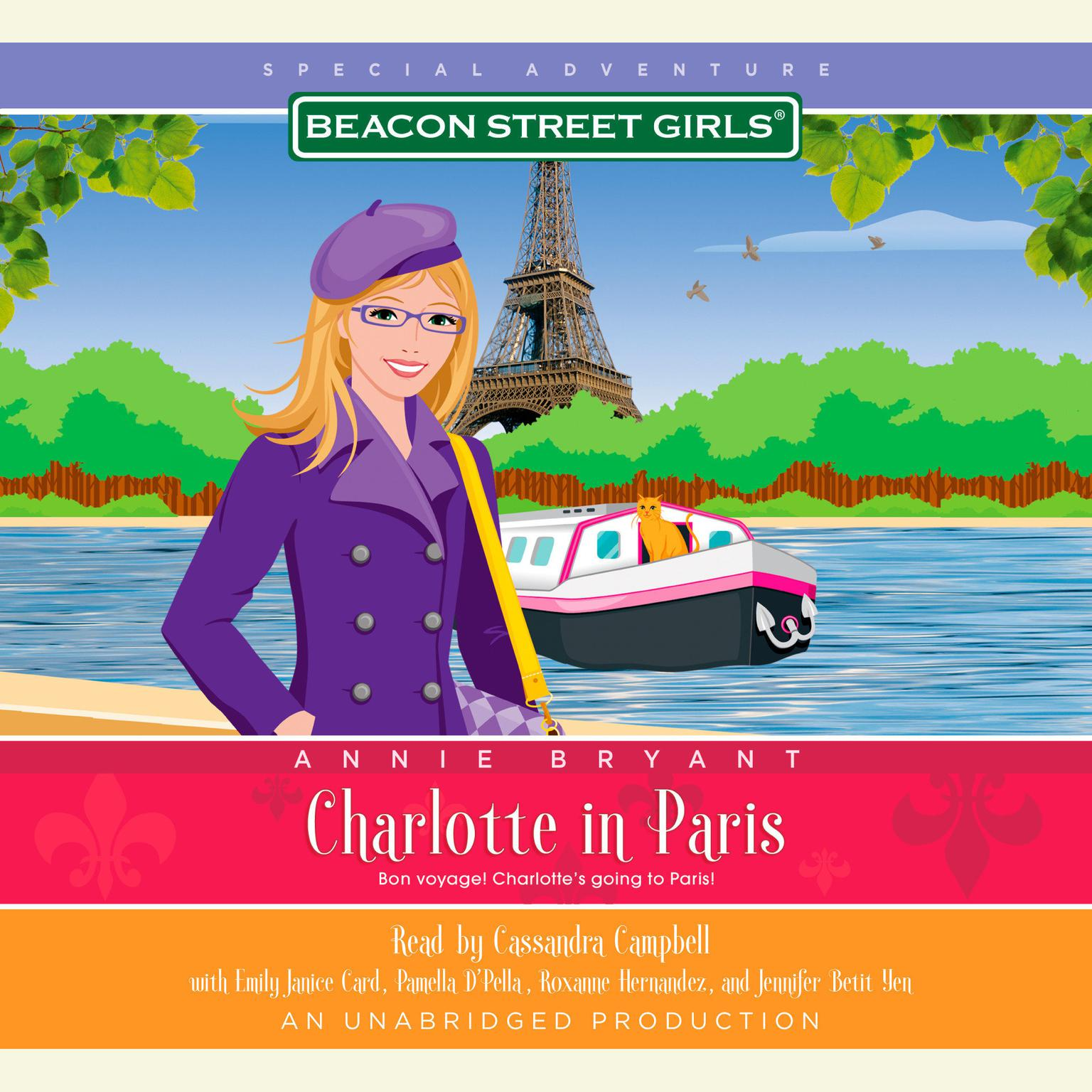 Printable Beacon Street Girls Special Adventure: Charlotte in Paris Audiobook Cover Art