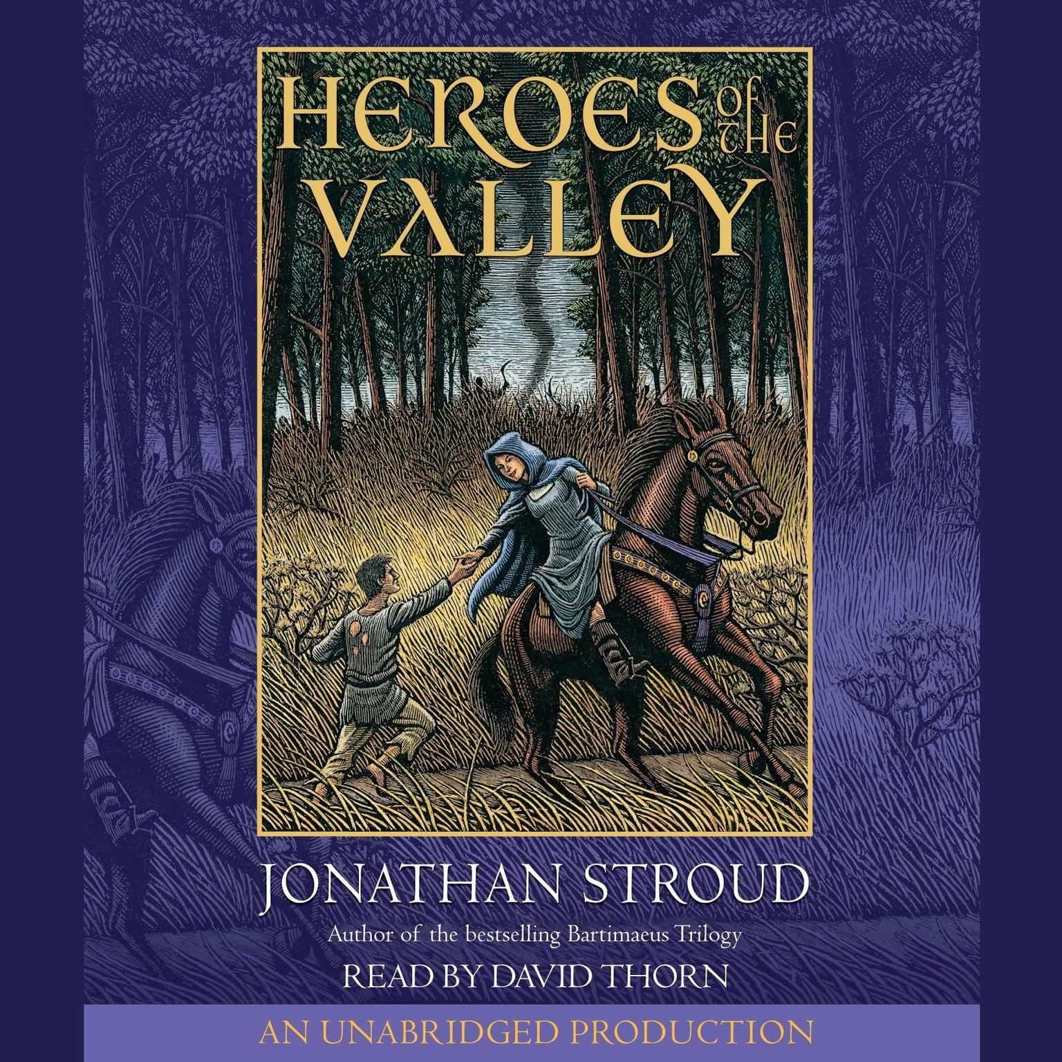 Printable Heroes of the Valley Audiobook Cover Art