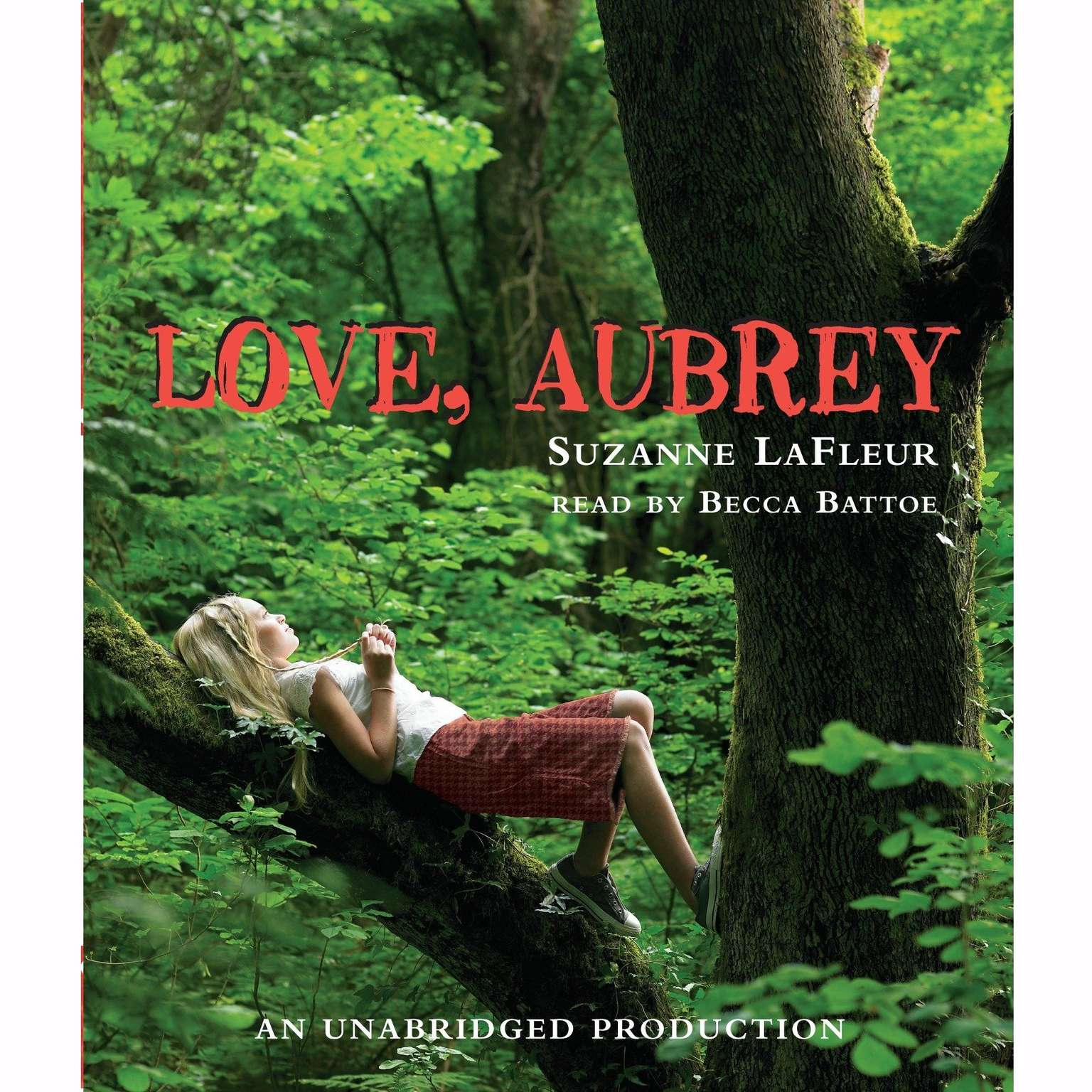 Printable Love, Aubrey Audiobook Cover Art