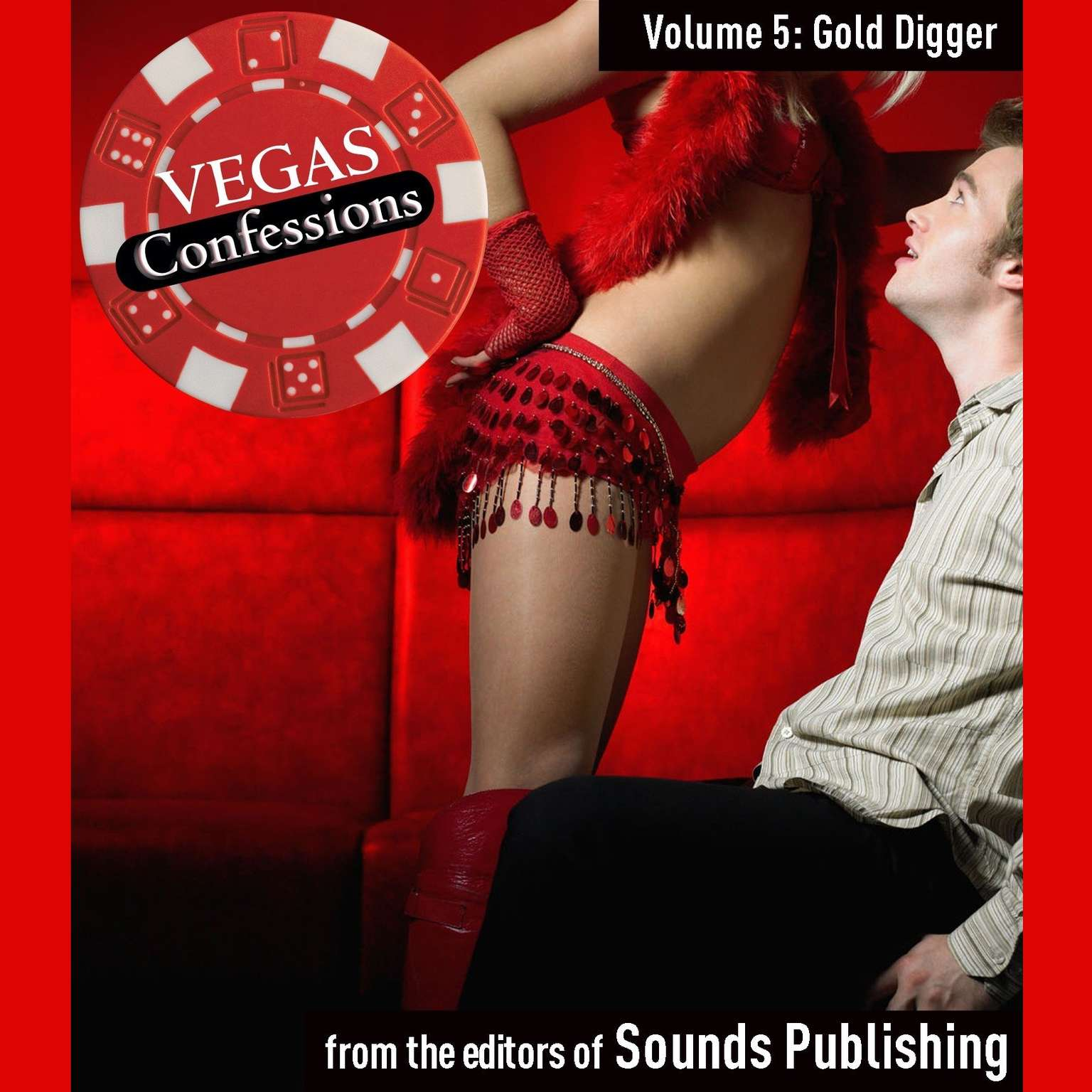 Printable Vegas Confessions 5: Gold Digger Audiobook Cover Art