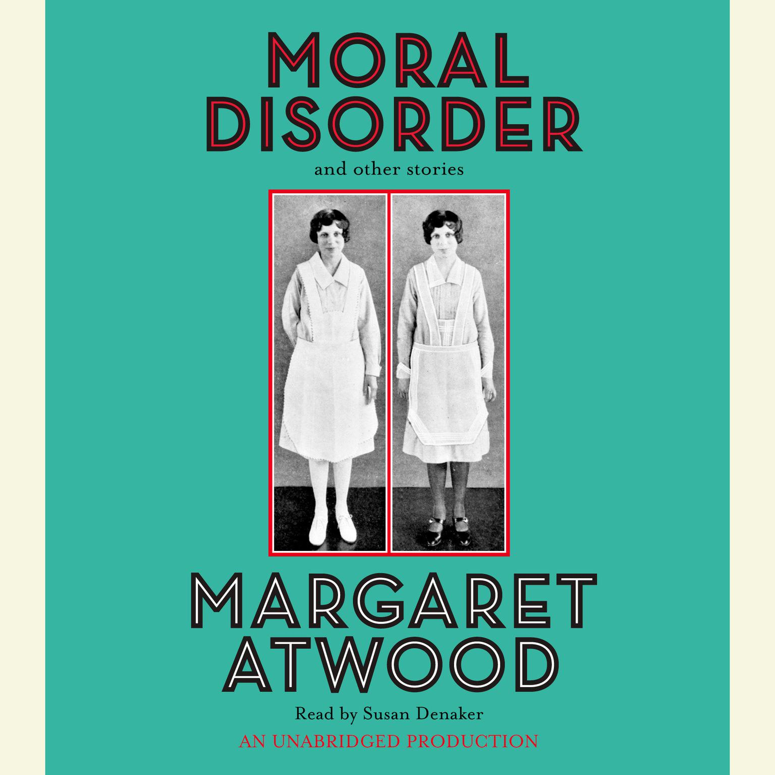 Printable Moral Disorder Audiobook Cover Art