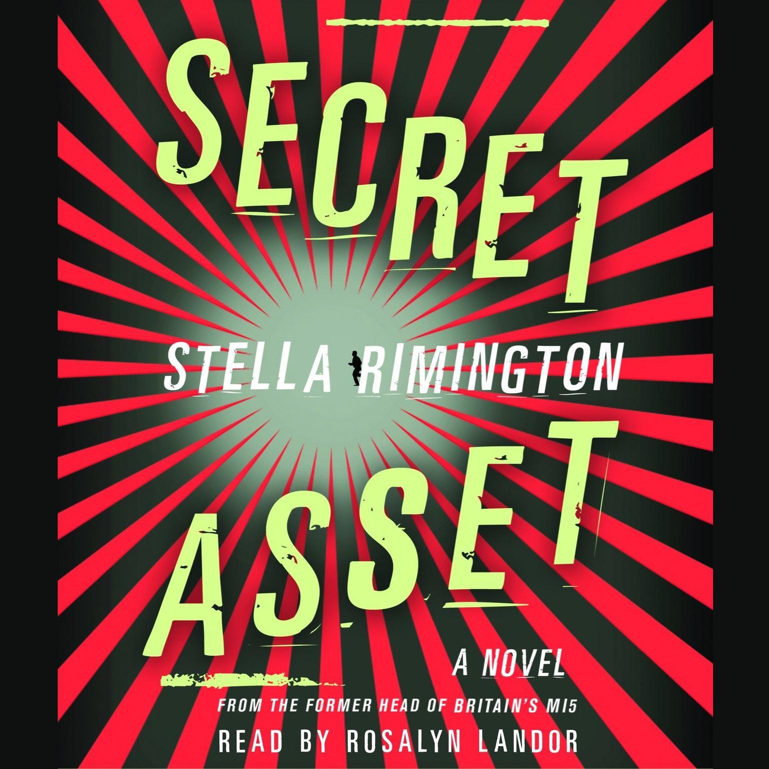 Printable Secret Asset Audiobook Cover Art