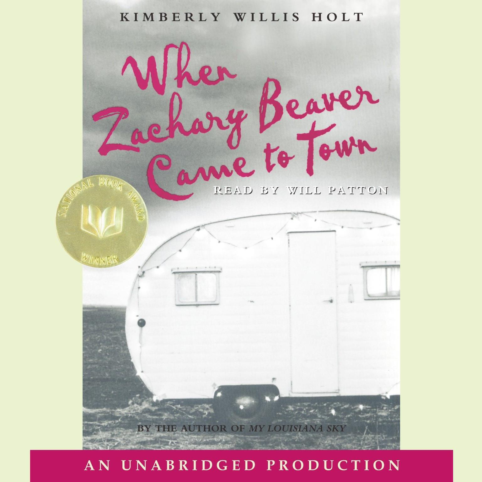 Printable When Zachary Beaver Came to Town Audiobook Cover Art