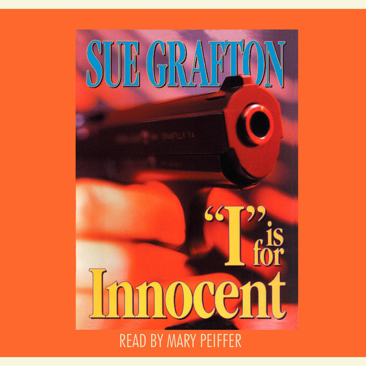 Printable I Is For Innocent Audiobook Cover Art