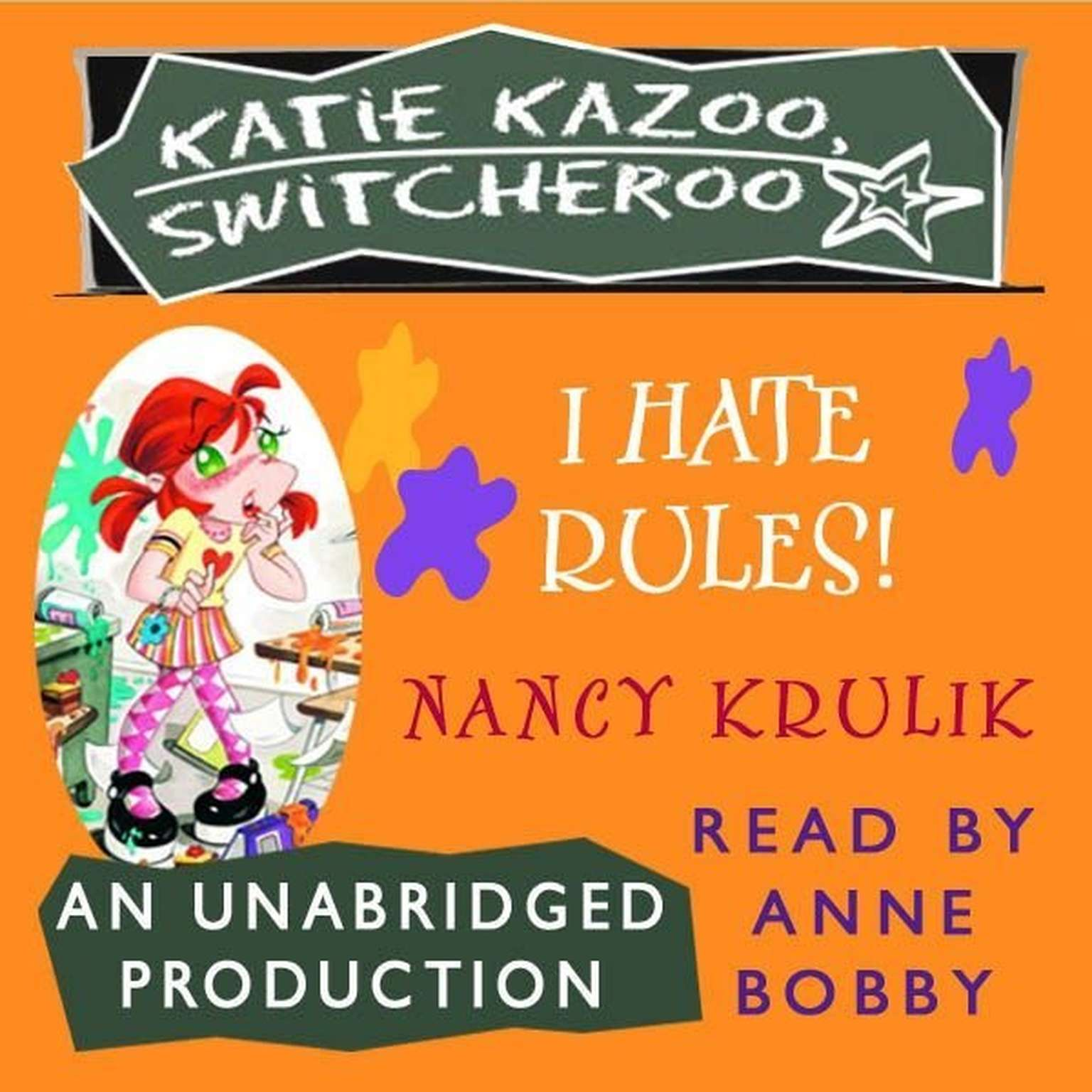 Printable Katie Kazoo, Switcheroo #5: I Hate Rules! Audiobook Cover Art