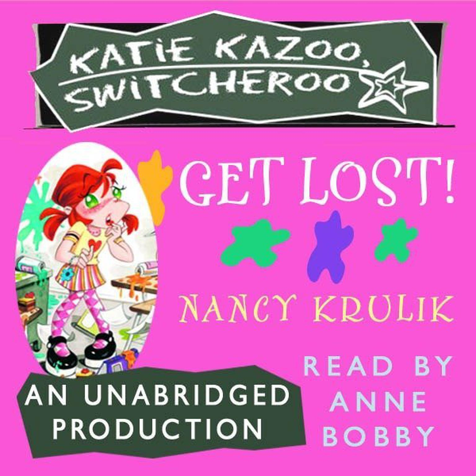 Printable Katie Kazoo, Switcheroo #6: Get Lost! Audiobook Cover Art