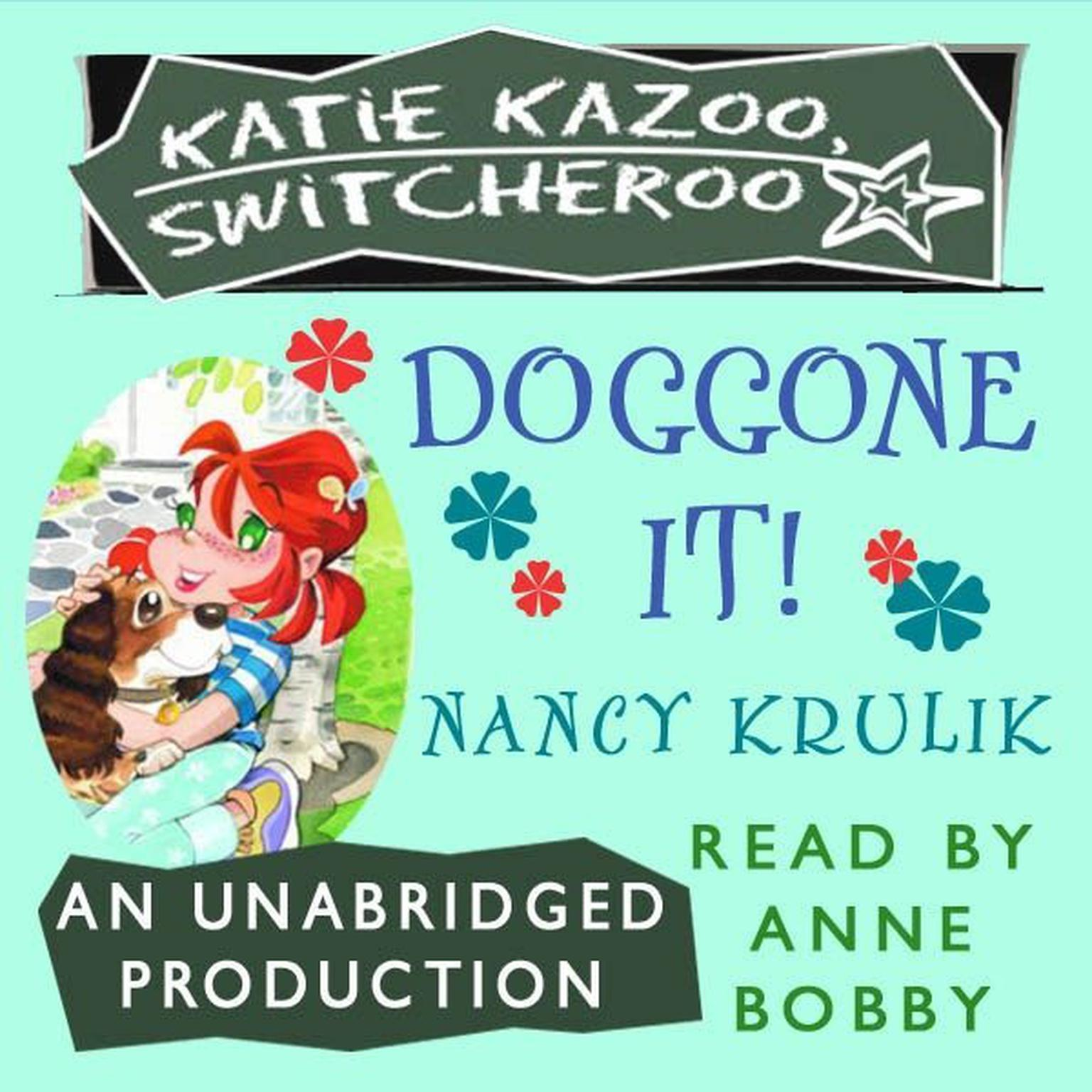 Printable Katie Kazoo, Switcheroo #8: Doggone It! Audiobook Cover Art